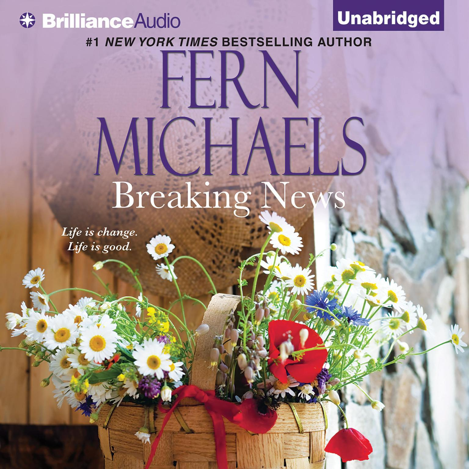 Printable Breaking News Audiobook Cover Art