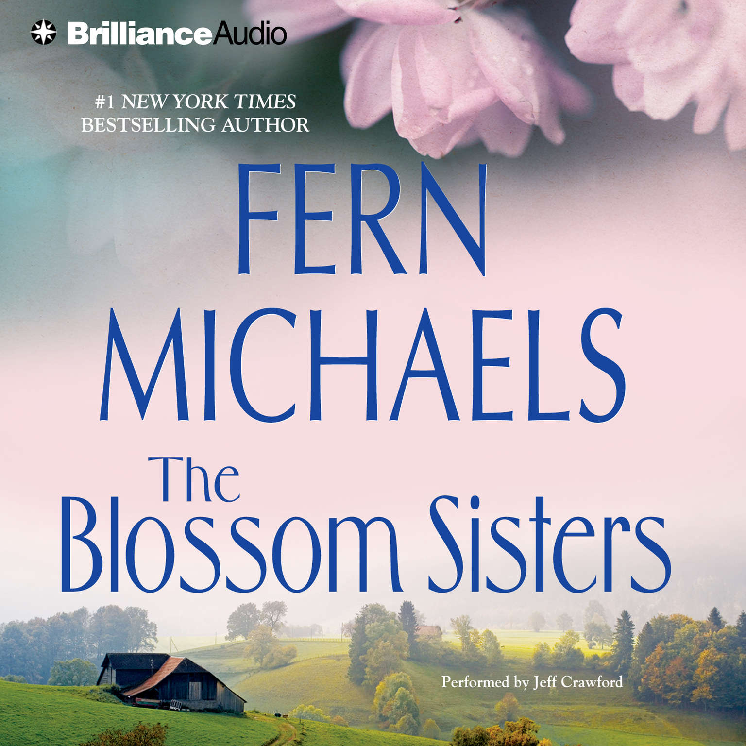 Printable The Blossom Sisters Audiobook Cover Art