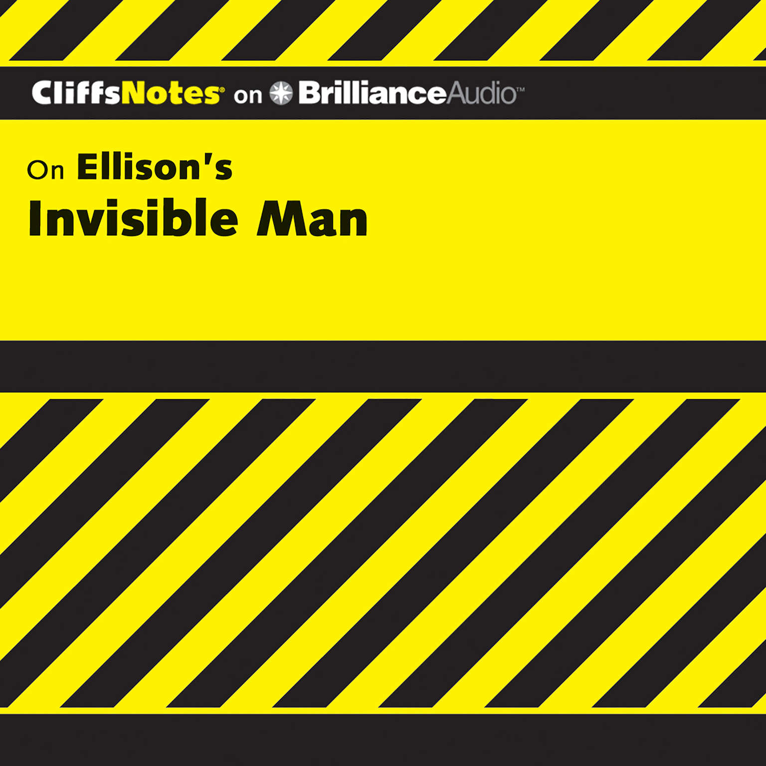 Printable Invisible Man Audiobook Cover Art