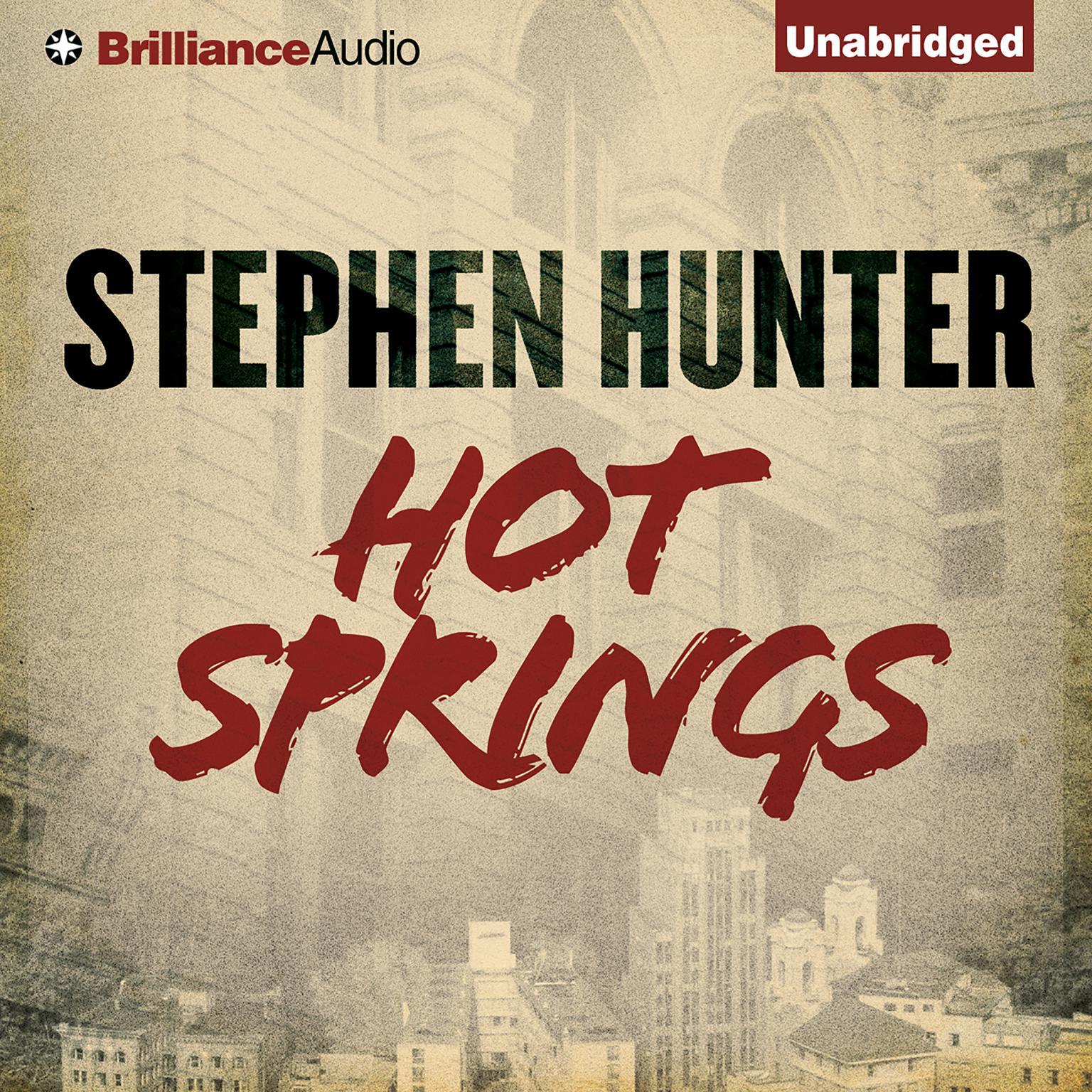 Printable Hot Springs Audiobook Cover Art