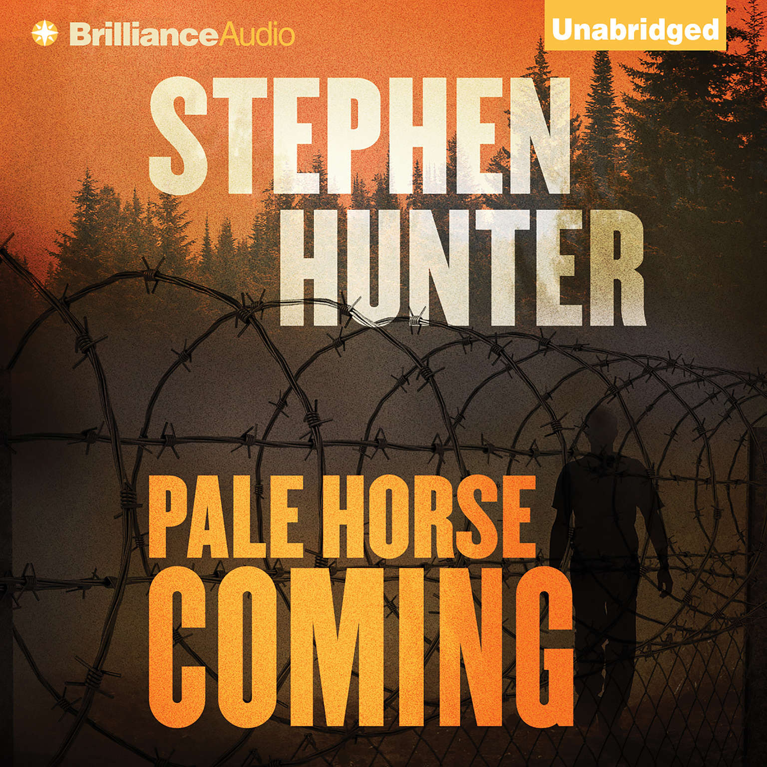 Printable Pale Horse Coming Audiobook Cover Art
