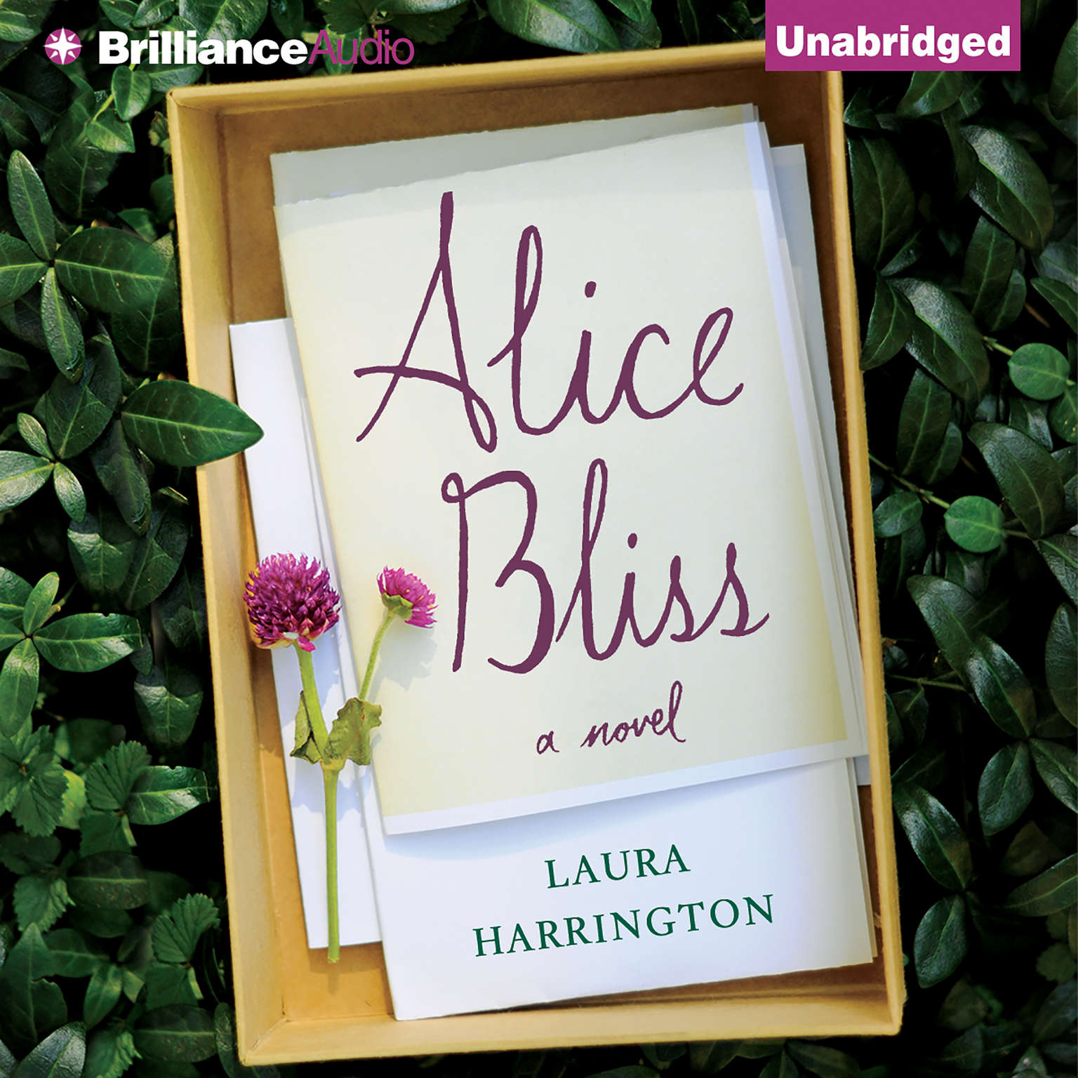 Printable Alice Bliss: A Novel Audiobook Cover Art