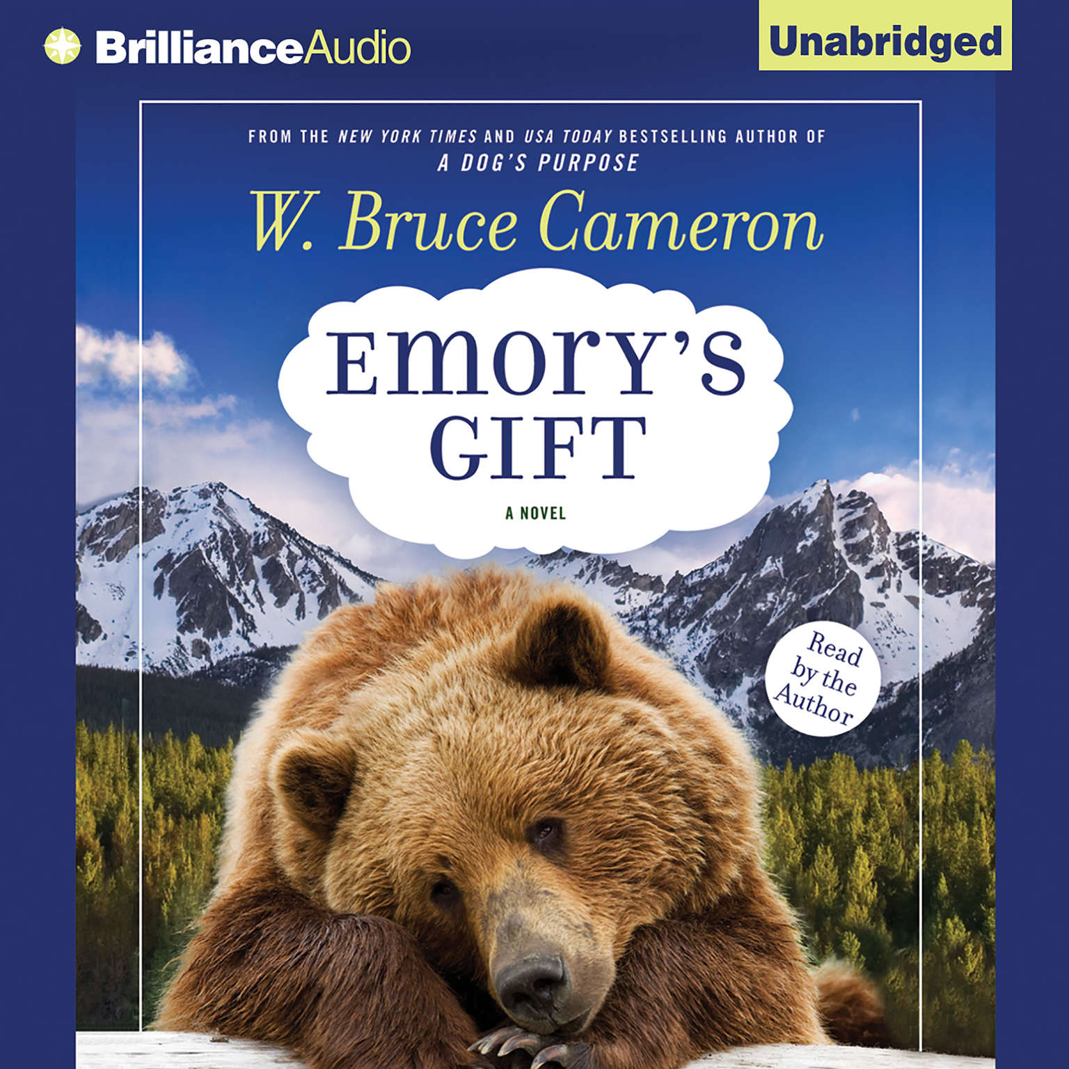 Printable Emory's Gift Audiobook Cover Art