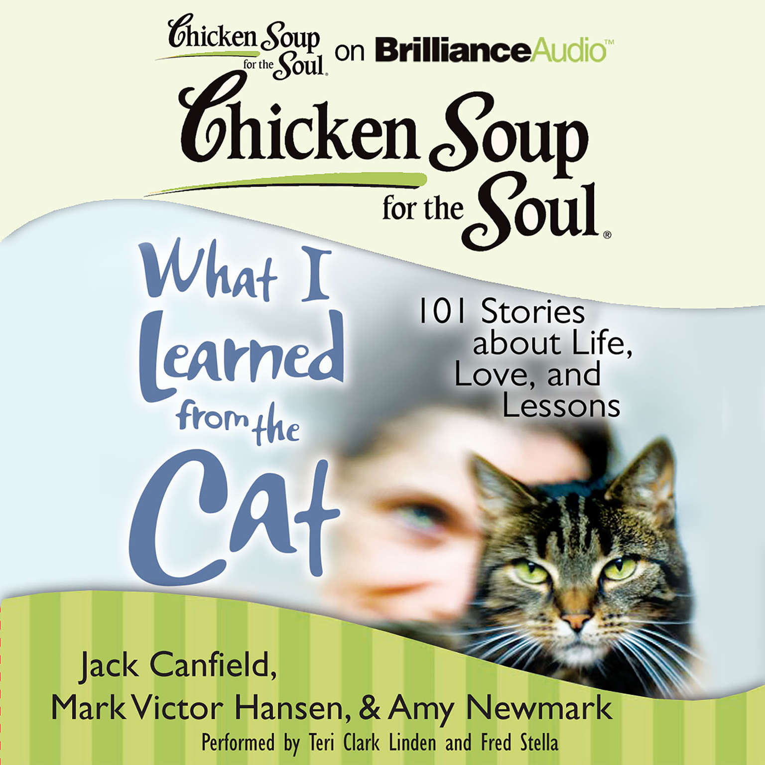 Printable Chicken Soup for the Soul: What I Learned from the Cat: 101 Stories about Life, Love, and Lessons Audiobook Cover Art