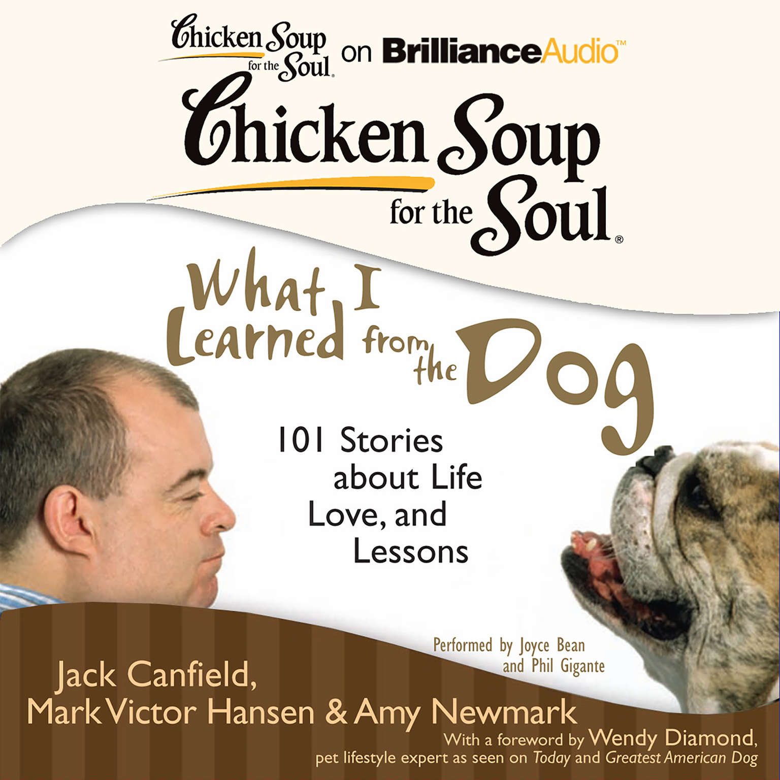 Printable Chicken Soup for the Soul: What I Learned from the Dog: 101 Stories about Life, Love, and Lessons Audiobook Cover Art