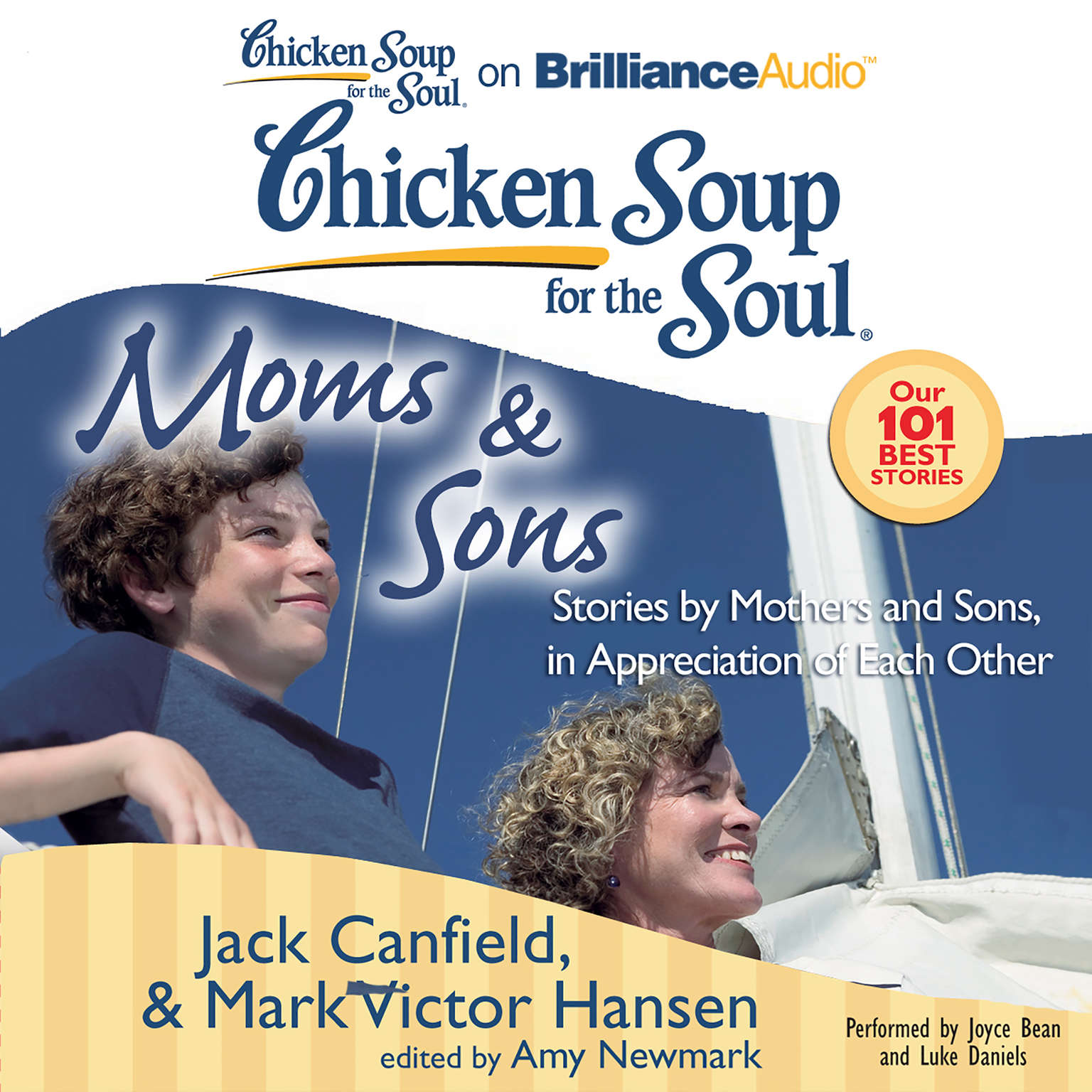 Printable Chicken Soup for the Soul: Moms & Sons: Stories by Mothers and Sons, in Appreciation of Each Other Audiobook Cover Art
