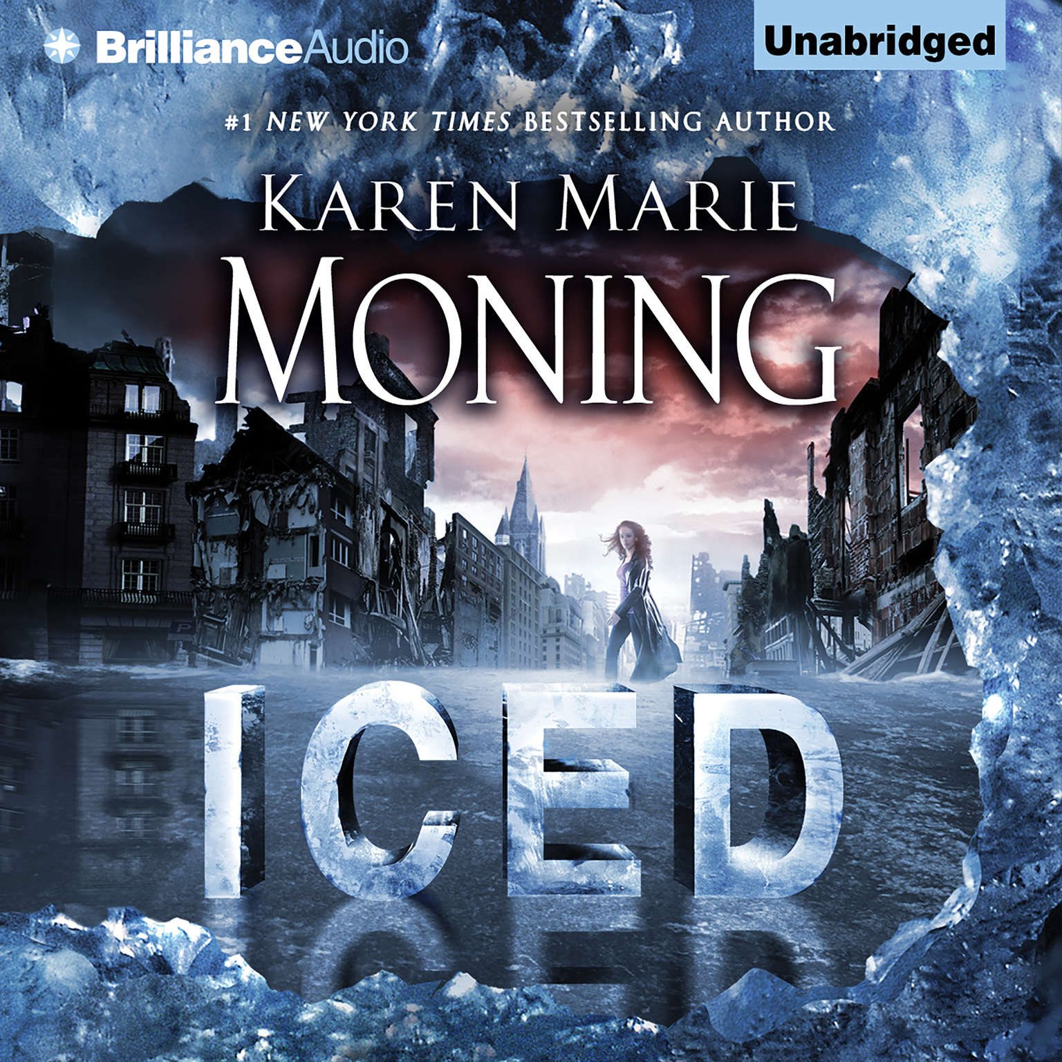Printable Iced Audiobook Cover Art