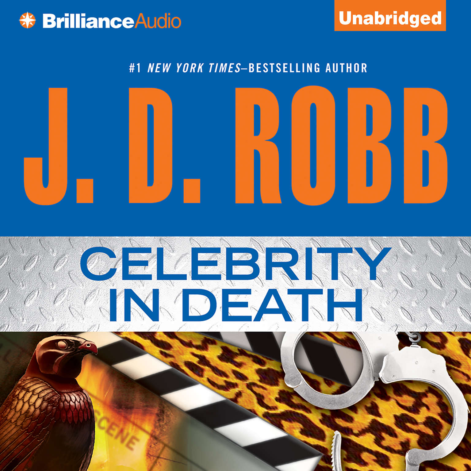 Printable Celebrity in Death Audiobook Cover Art