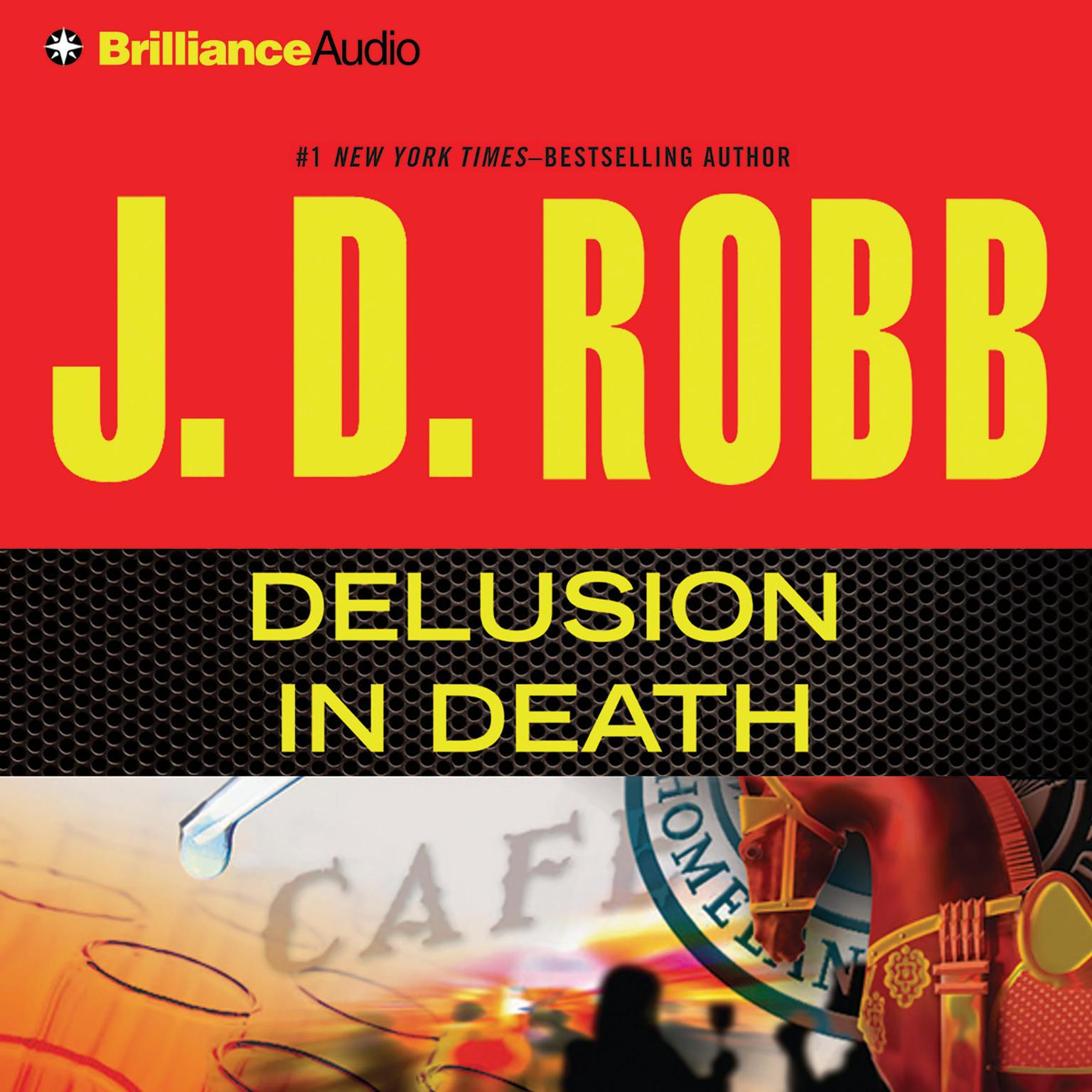 Printable Delusion In Death Audiobook Cover Art