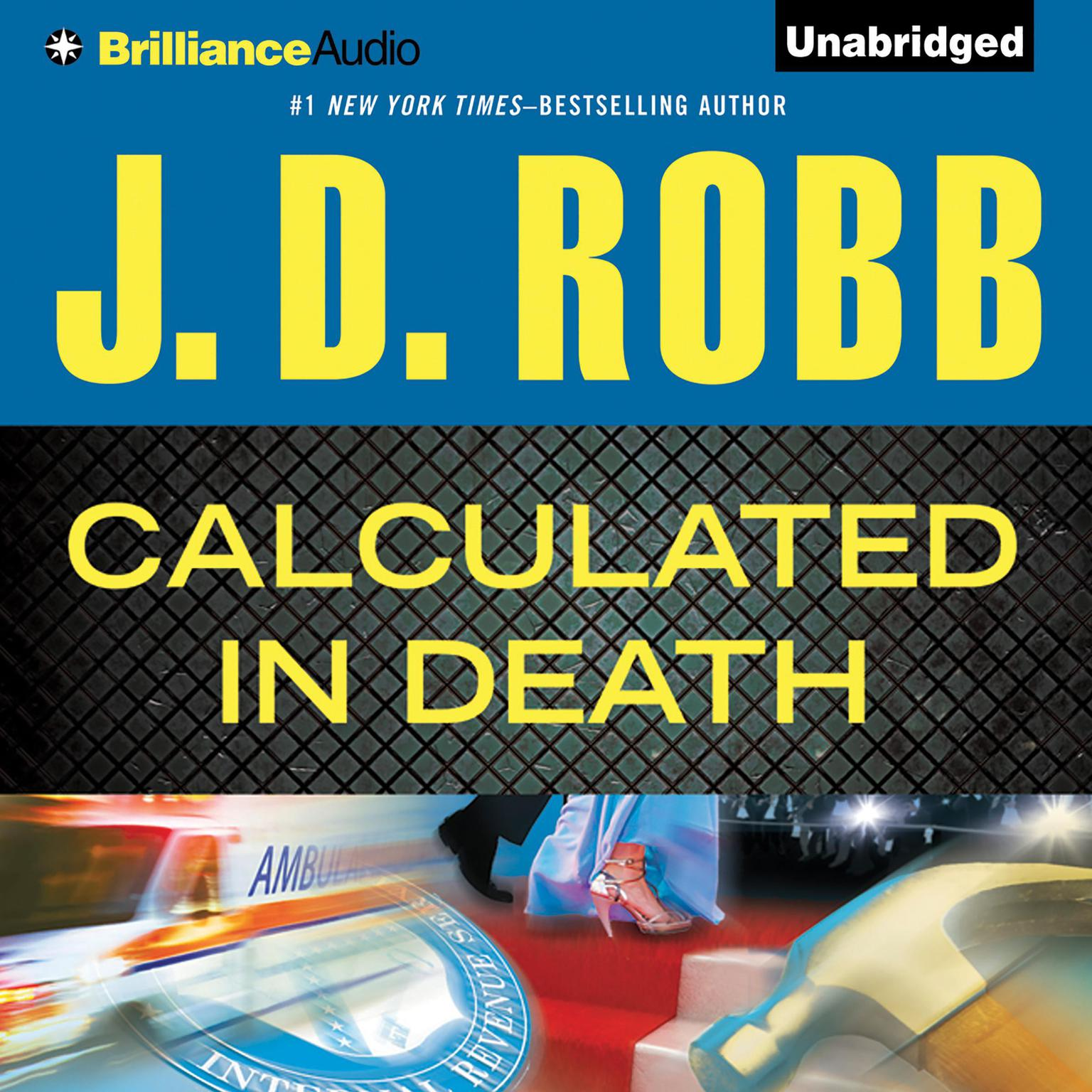 Printable Calculated In Death Audiobook Cover Art