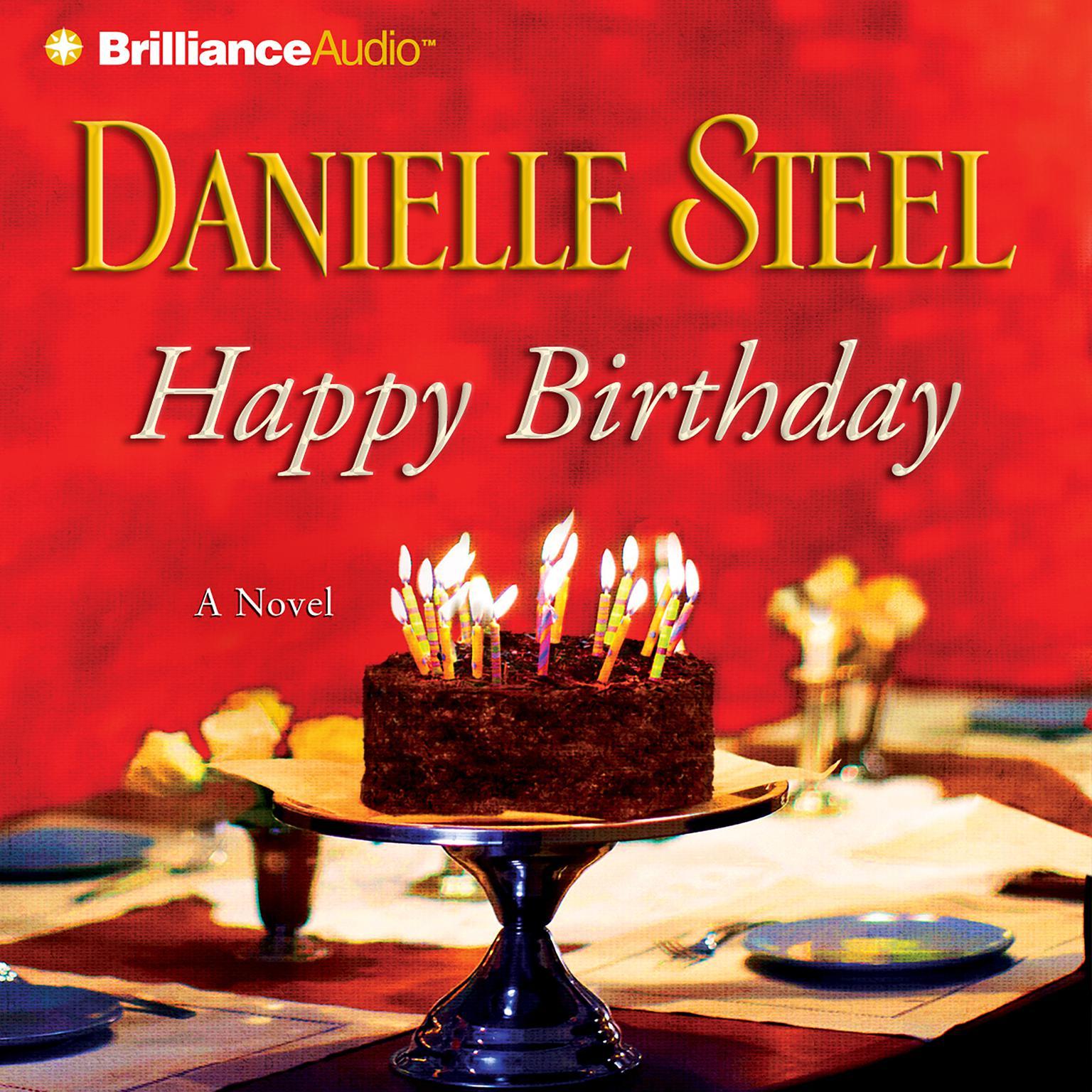 Printable Happy Birthday Audiobook Cover Art