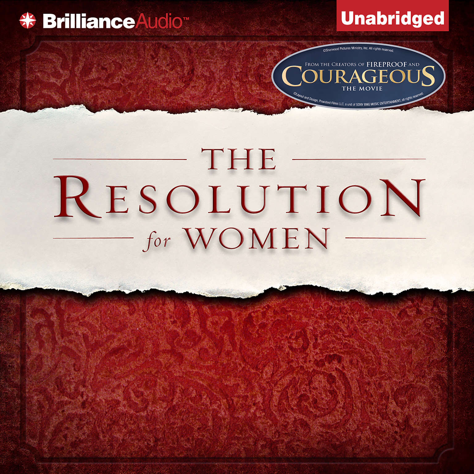 Printable The Resolution for Women Audiobook Cover Art