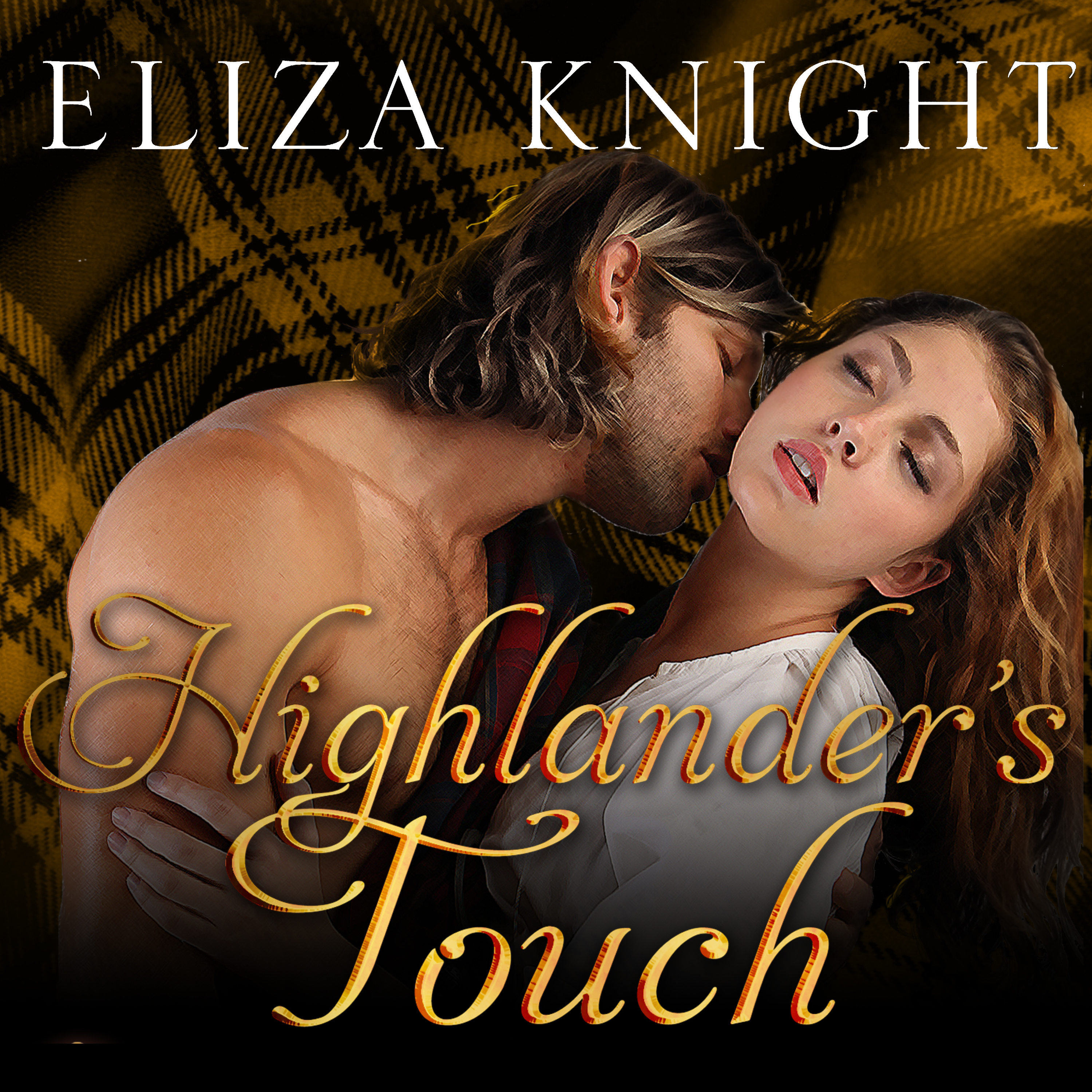 Printable Highlander's Touch Audiobook Cover Art