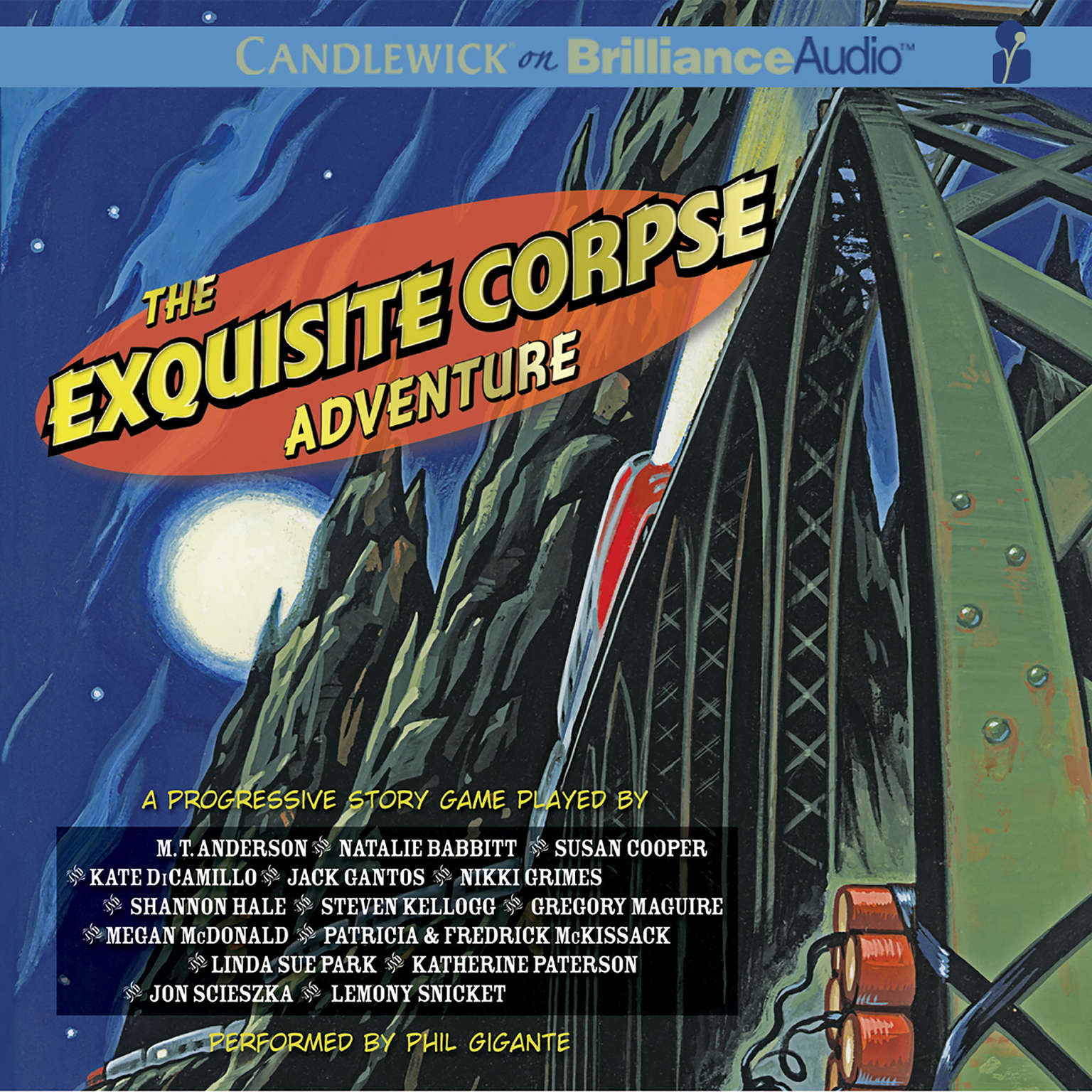 Printable The Exquisite Corpse Adventure: A Progressive Story Game Audiobook Cover Art