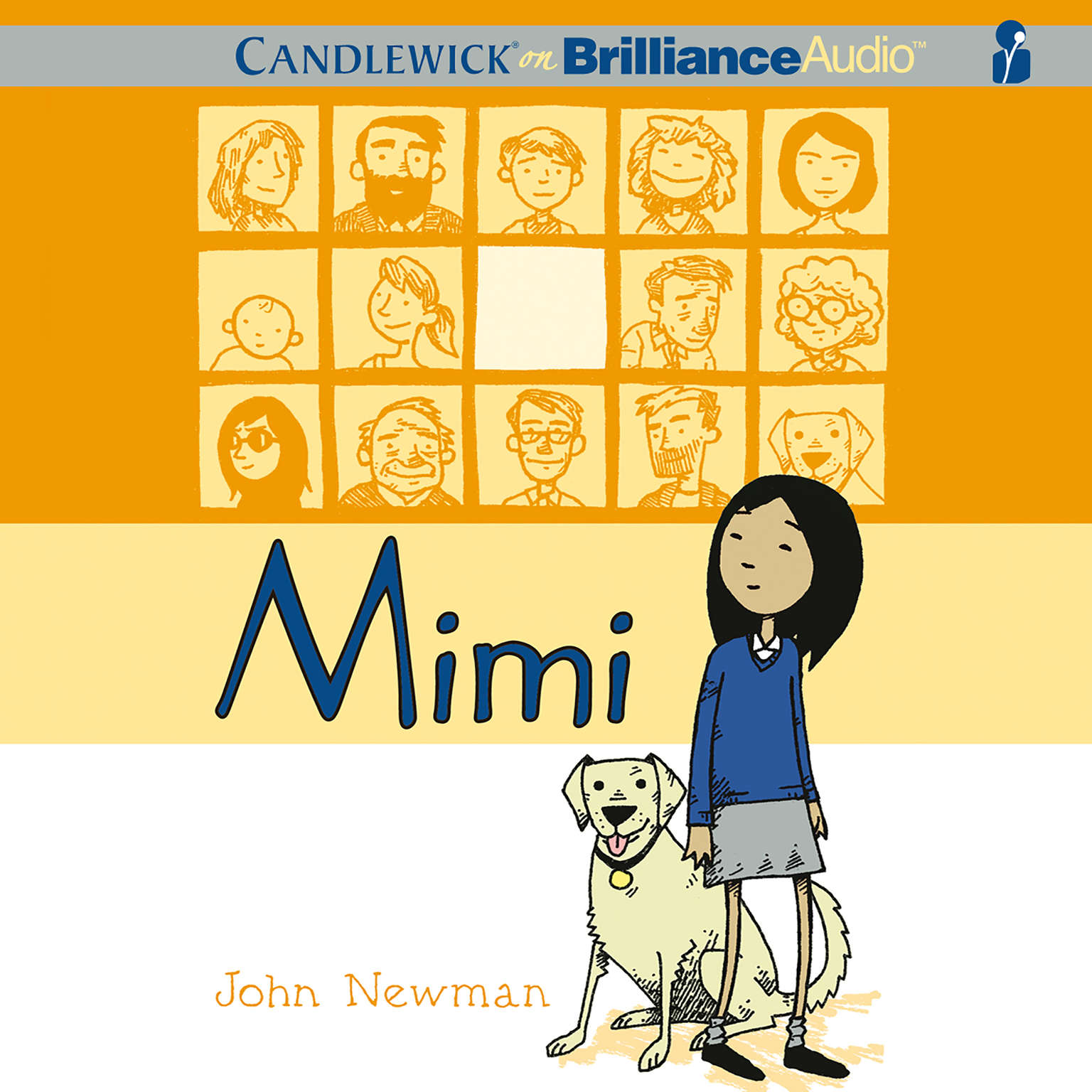 Printable Mimi Audiobook Cover Art