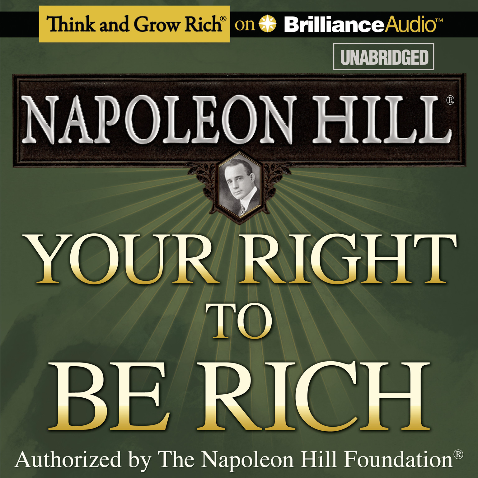 Printable Your Right to Be Rich Audiobook Cover Art