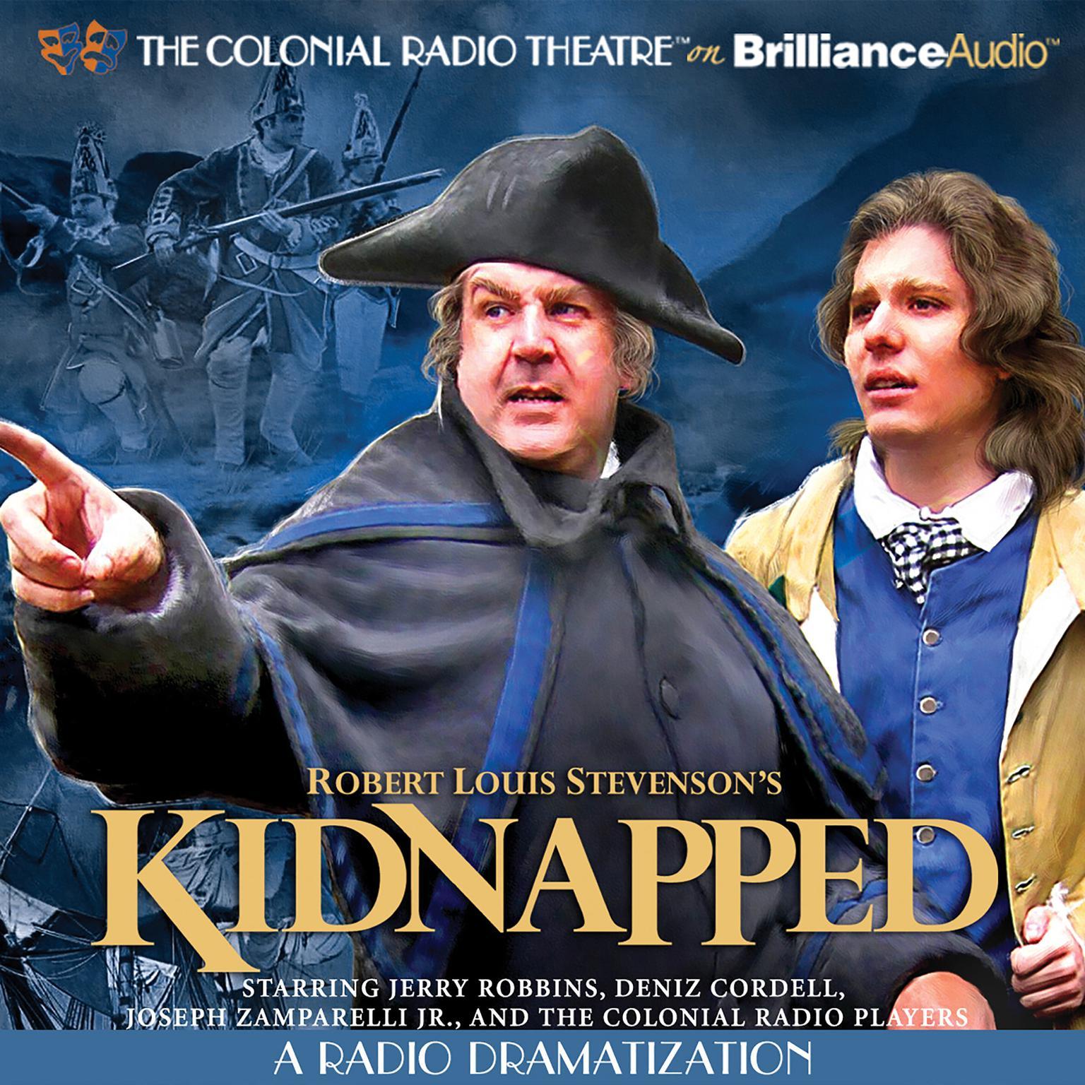 Printable Robert Louis Stevenson's Kidnapped: A Radio Dramatization Audiobook Cover Art