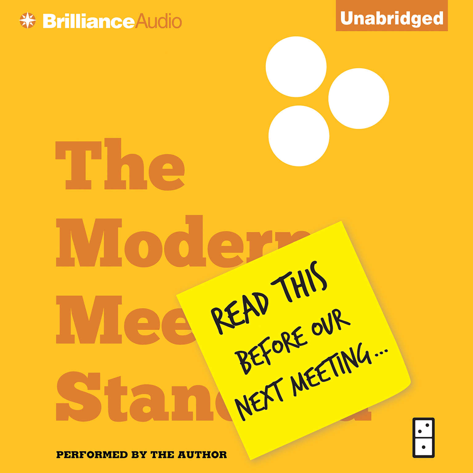 Printable Read This Before Our Next Meeting: The Modern Meeting Standard Audiobook Cover Art