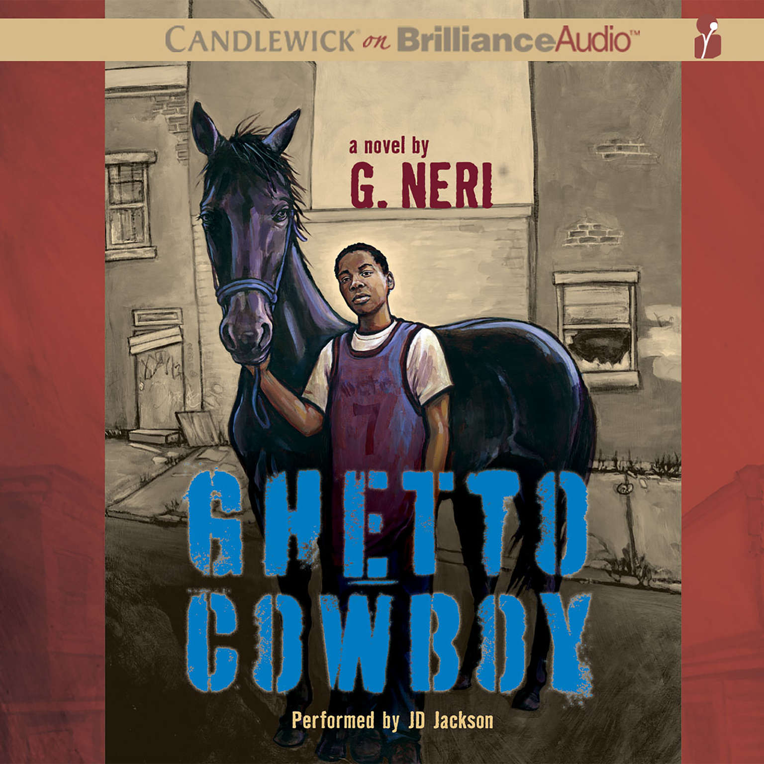 Printable Ghetto Cowboy Audiobook Cover Art