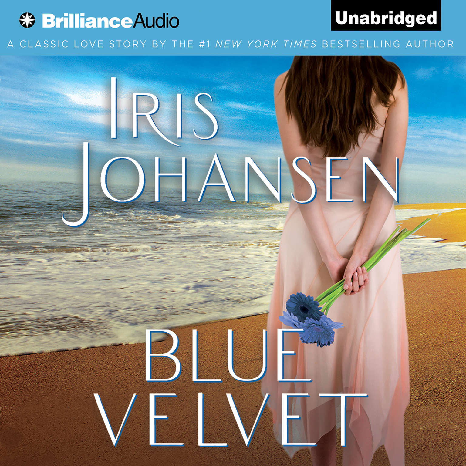 Printable Blue Velvet Audiobook Cover Art