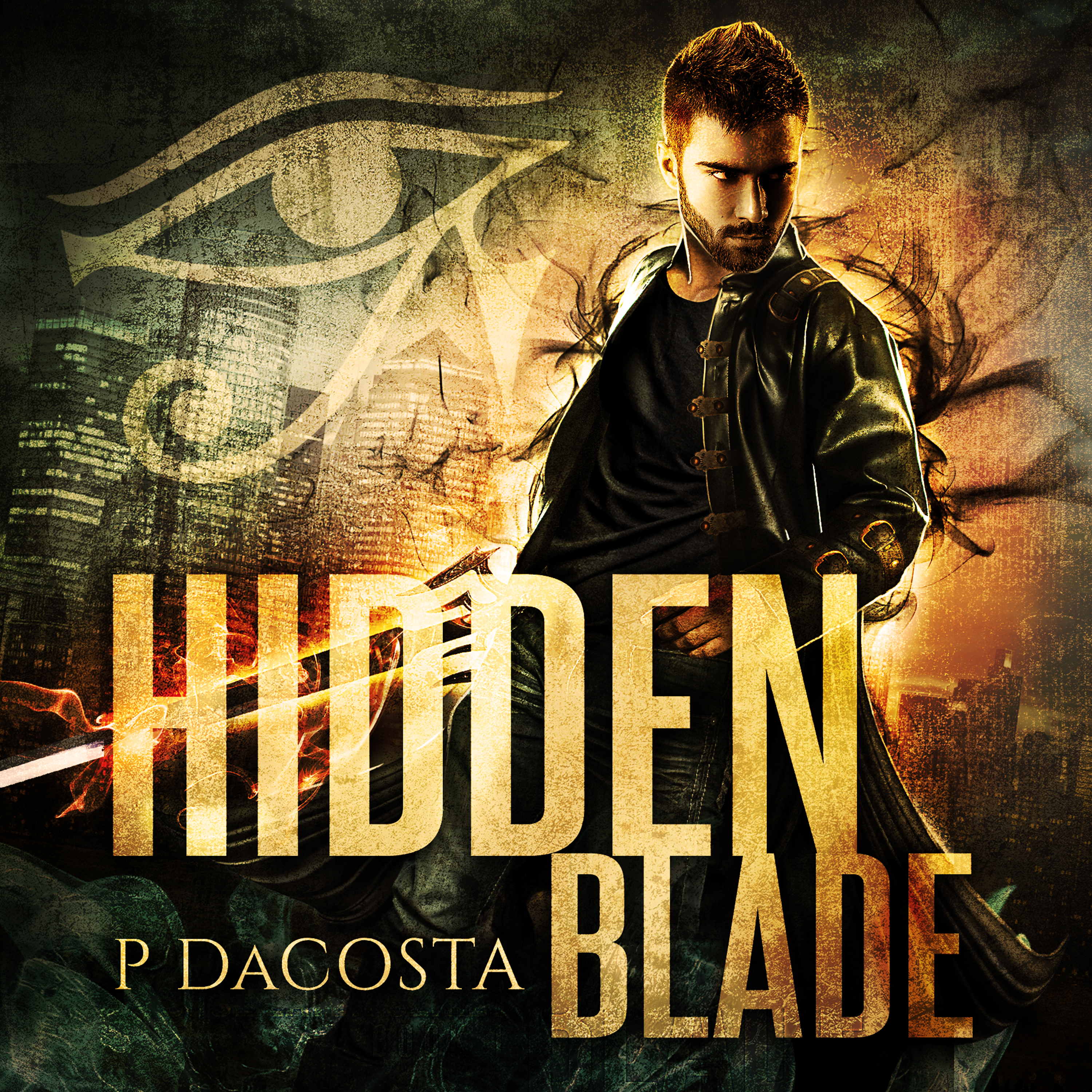 Printable Hidden Blade Audiobook Cover Art