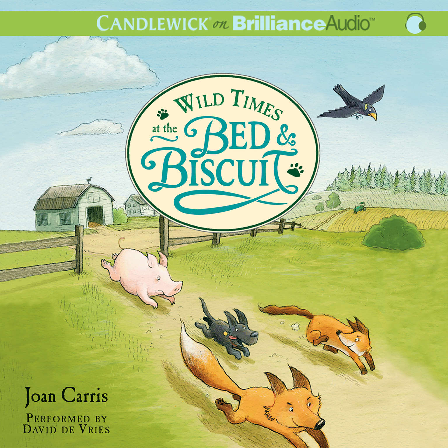 Printable Wild Times at the Bed & Biscuit Audiobook Cover Art
