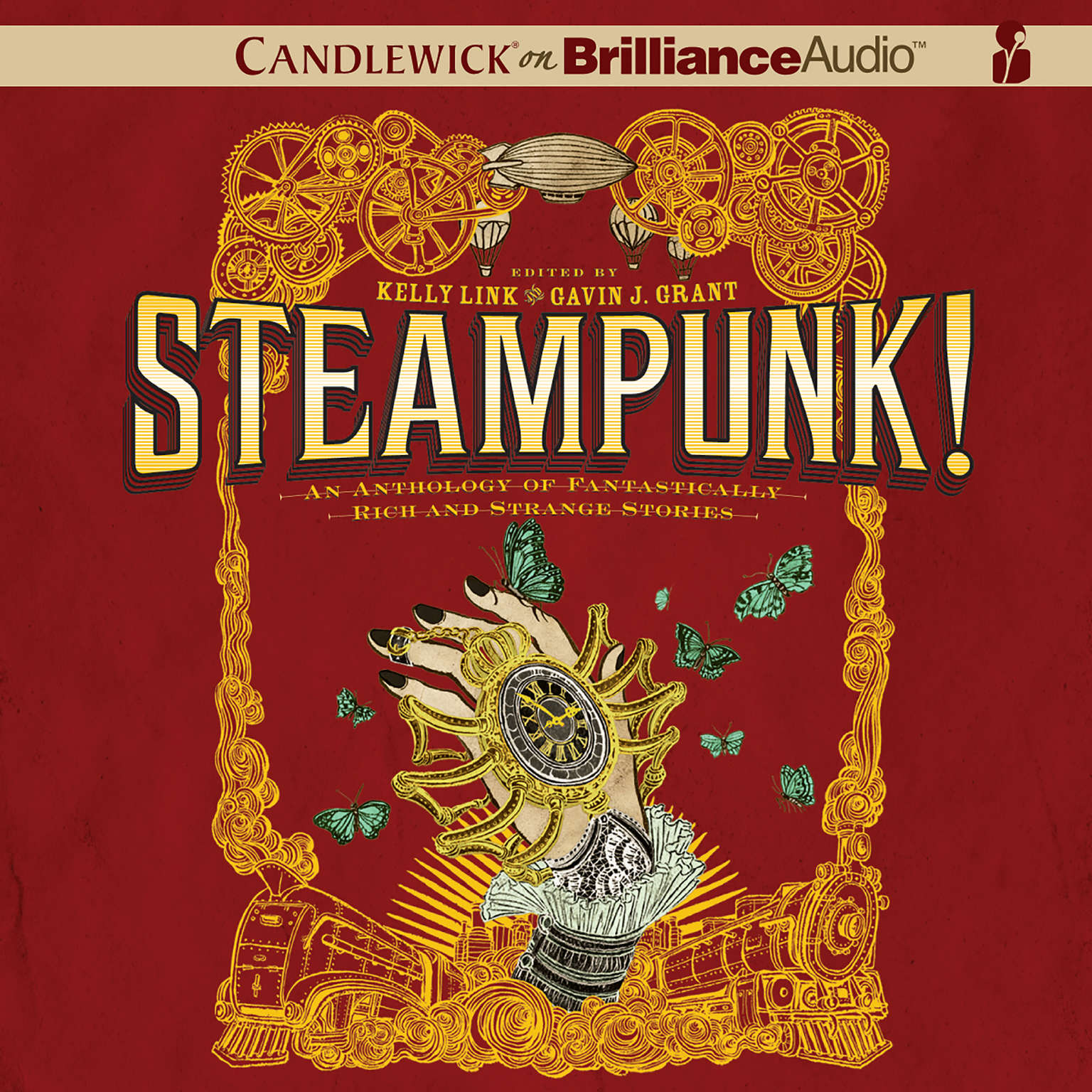 Printable Steampunk!: An Anthology of Fantastically Rich and Strange Stories Audiobook Cover Art