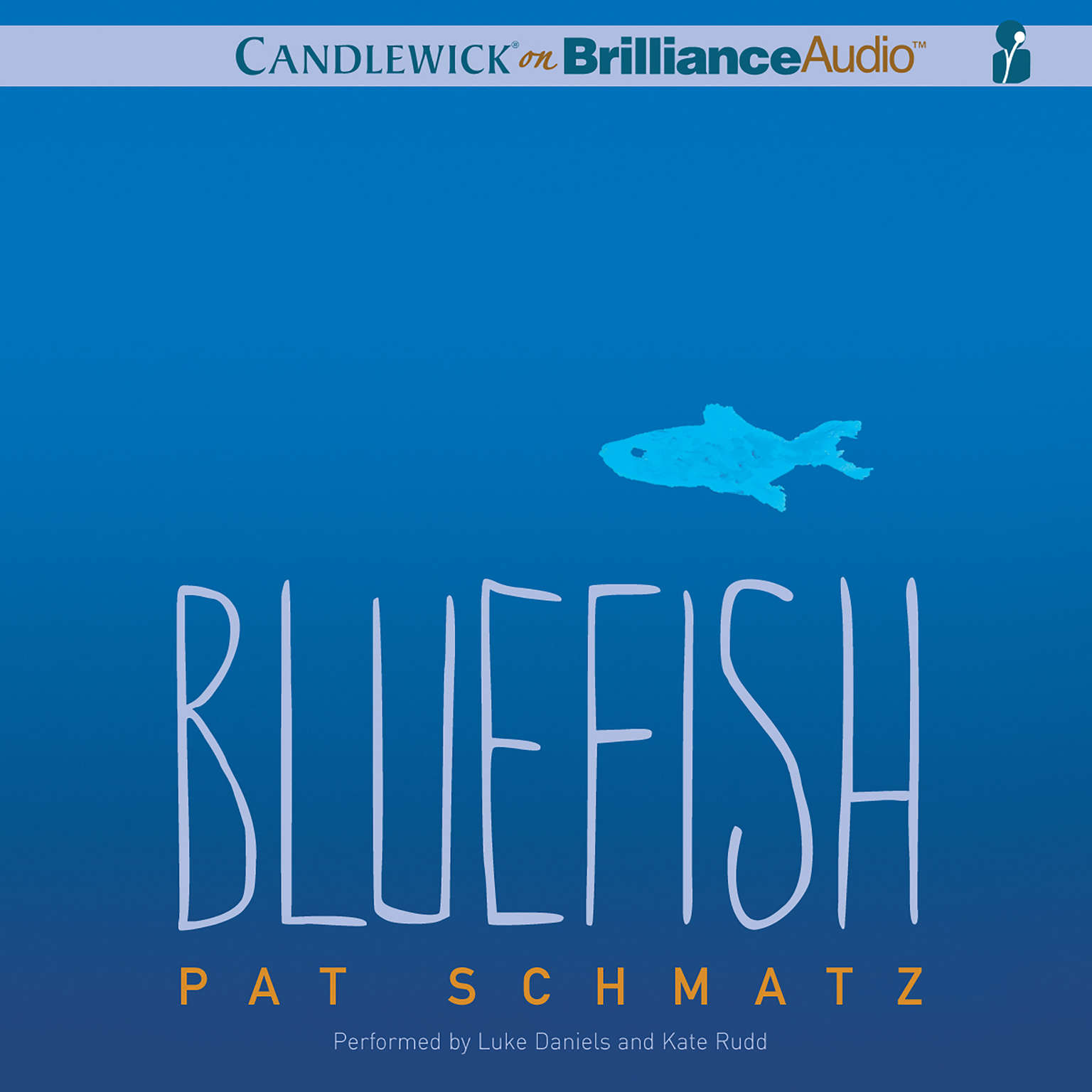 Printable Bluefish Audiobook Cover Art