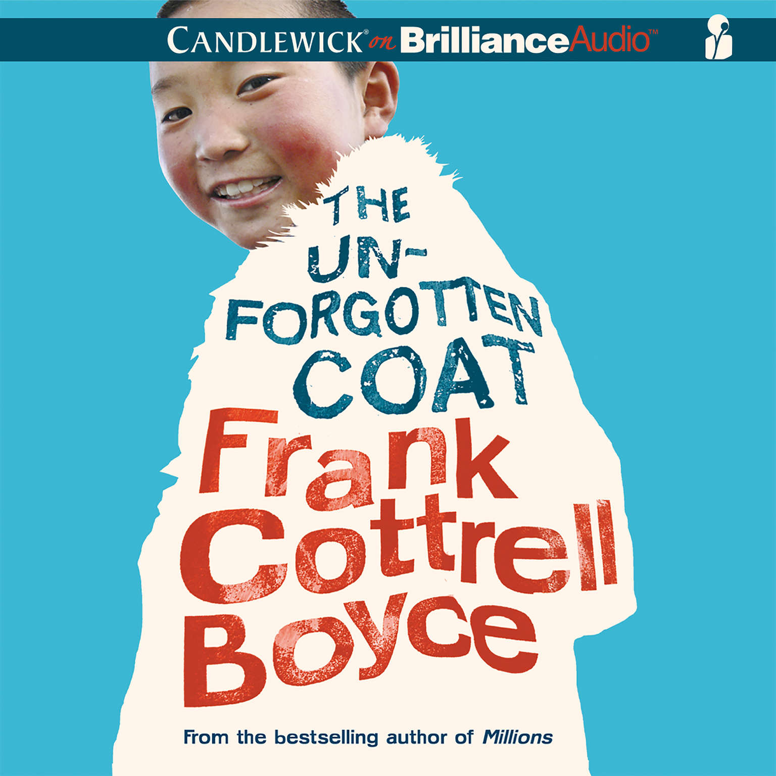 Printable The Unforgotten Coat Audiobook Cover Art