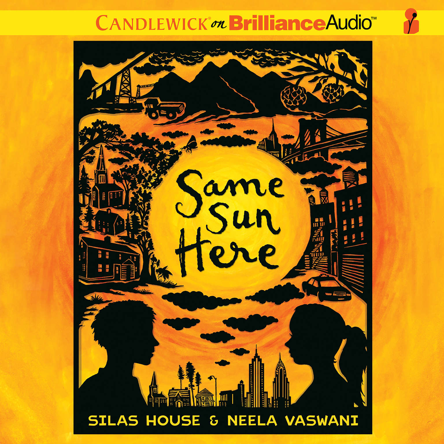 Printable Same Sun Here Audiobook Cover Art
