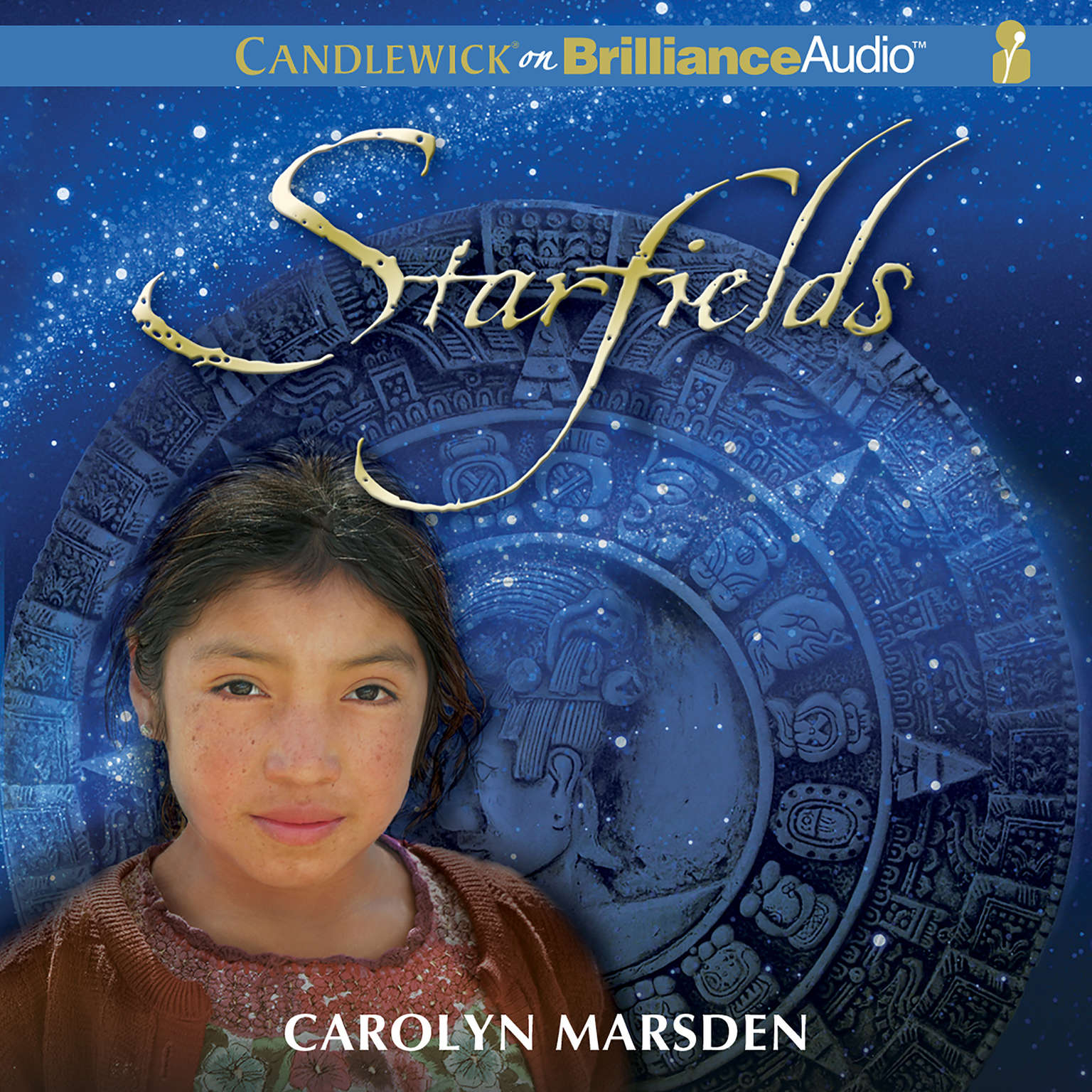 Printable Starfields Audiobook Cover Art