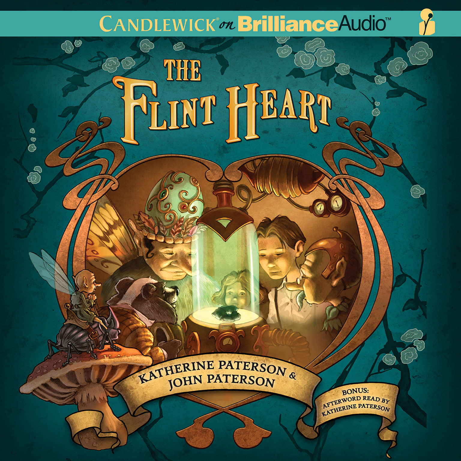 Printable The Flint Heart Audiobook Cover Art