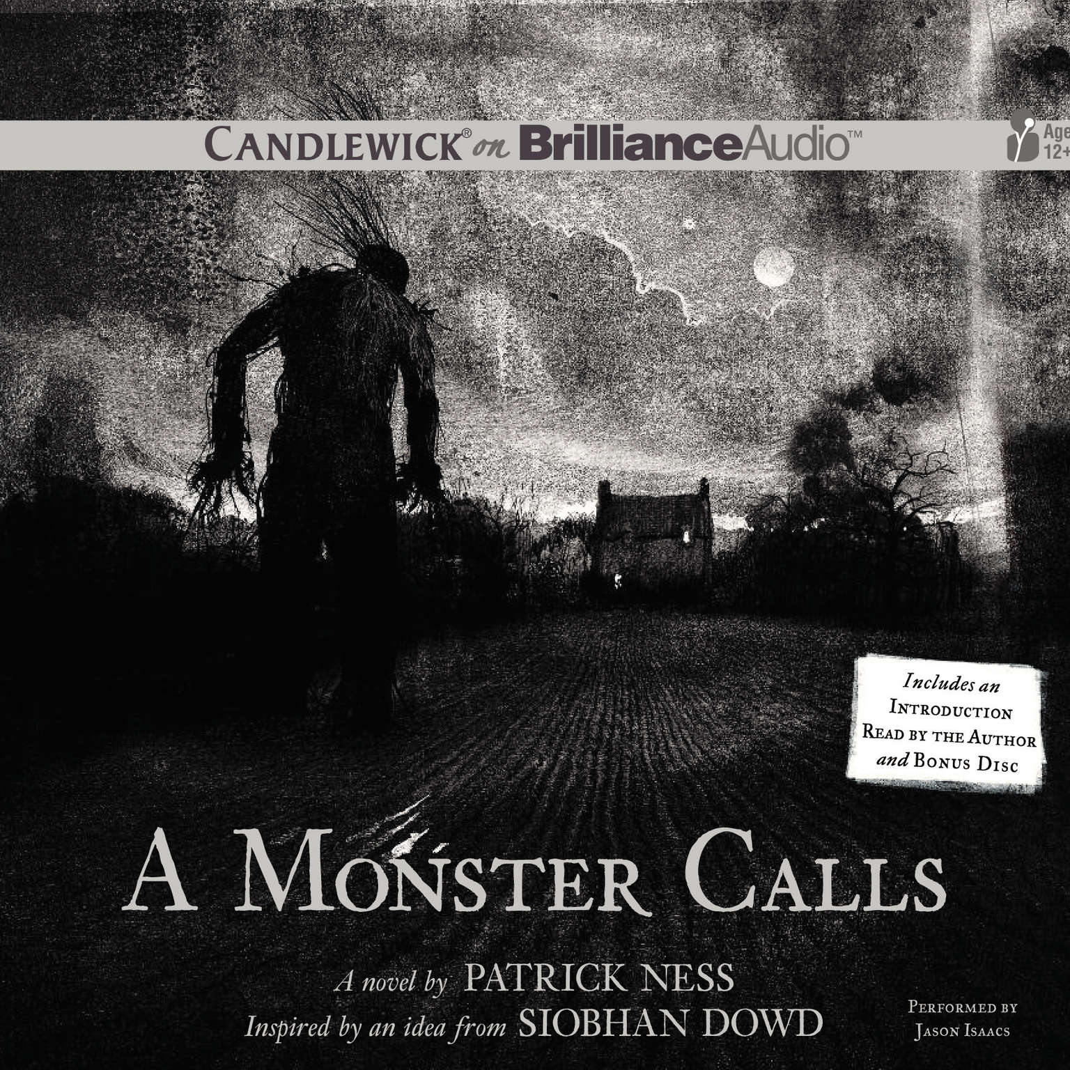 Printable A Monster Calls: Inspired by an Idea from Siobhan Dowd Audiobook Cover Art