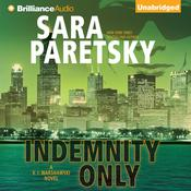 Indemnity Only Audiobook, by Sara Paretsky