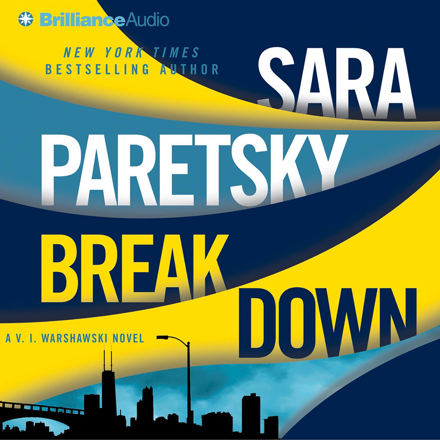 Printable Breakdown Audiobook Cover Art