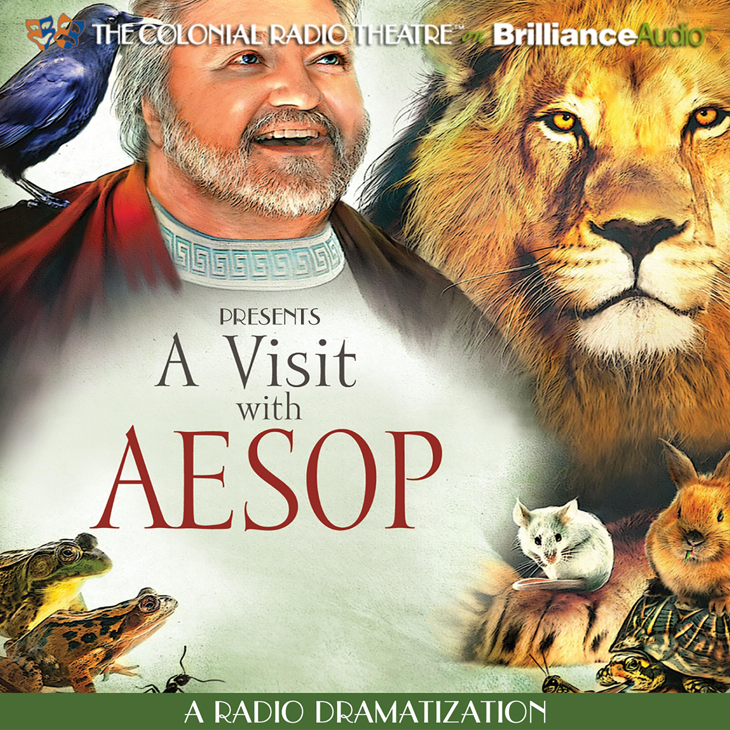 Printable A Visit with Aesop: A One Man Show Audiobook Cover Art