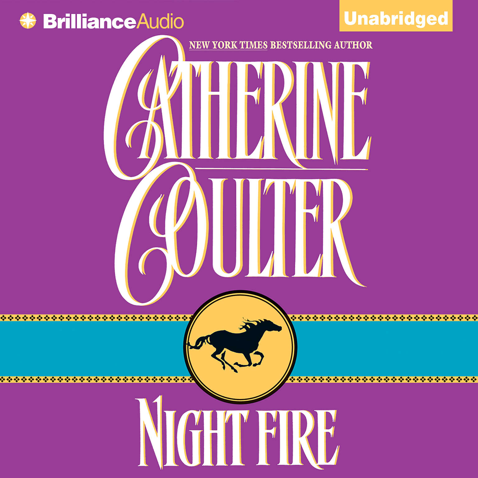 Printable Night Fire Audiobook Cover Art