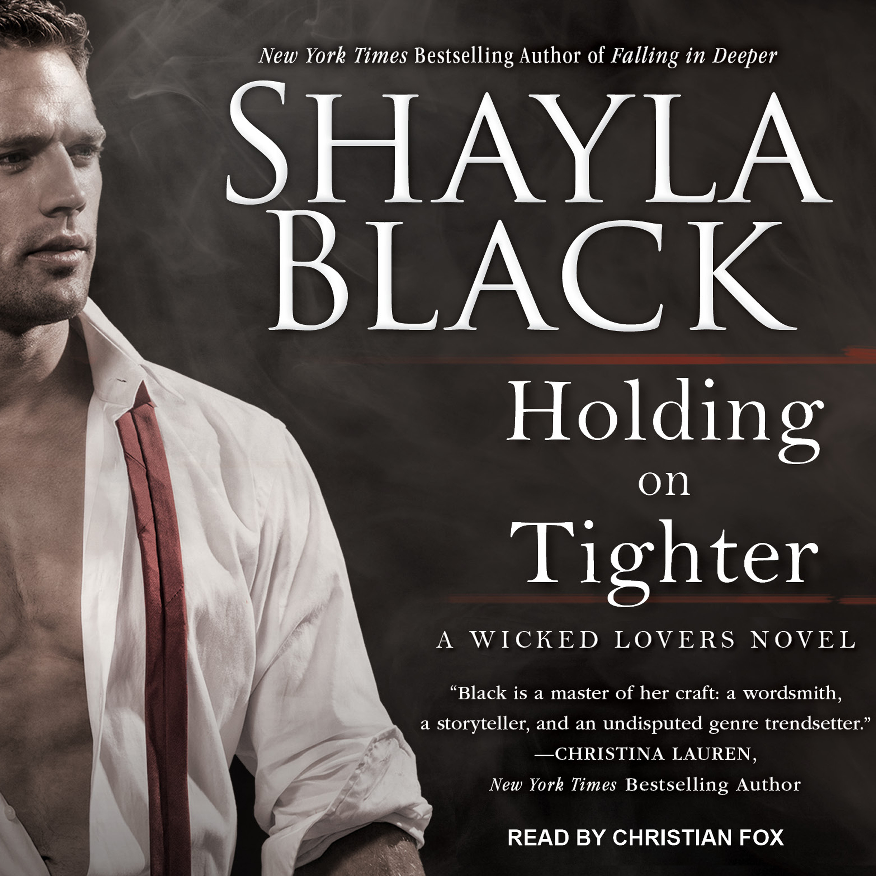 Printable Holding on Tighter Audiobook Cover Art