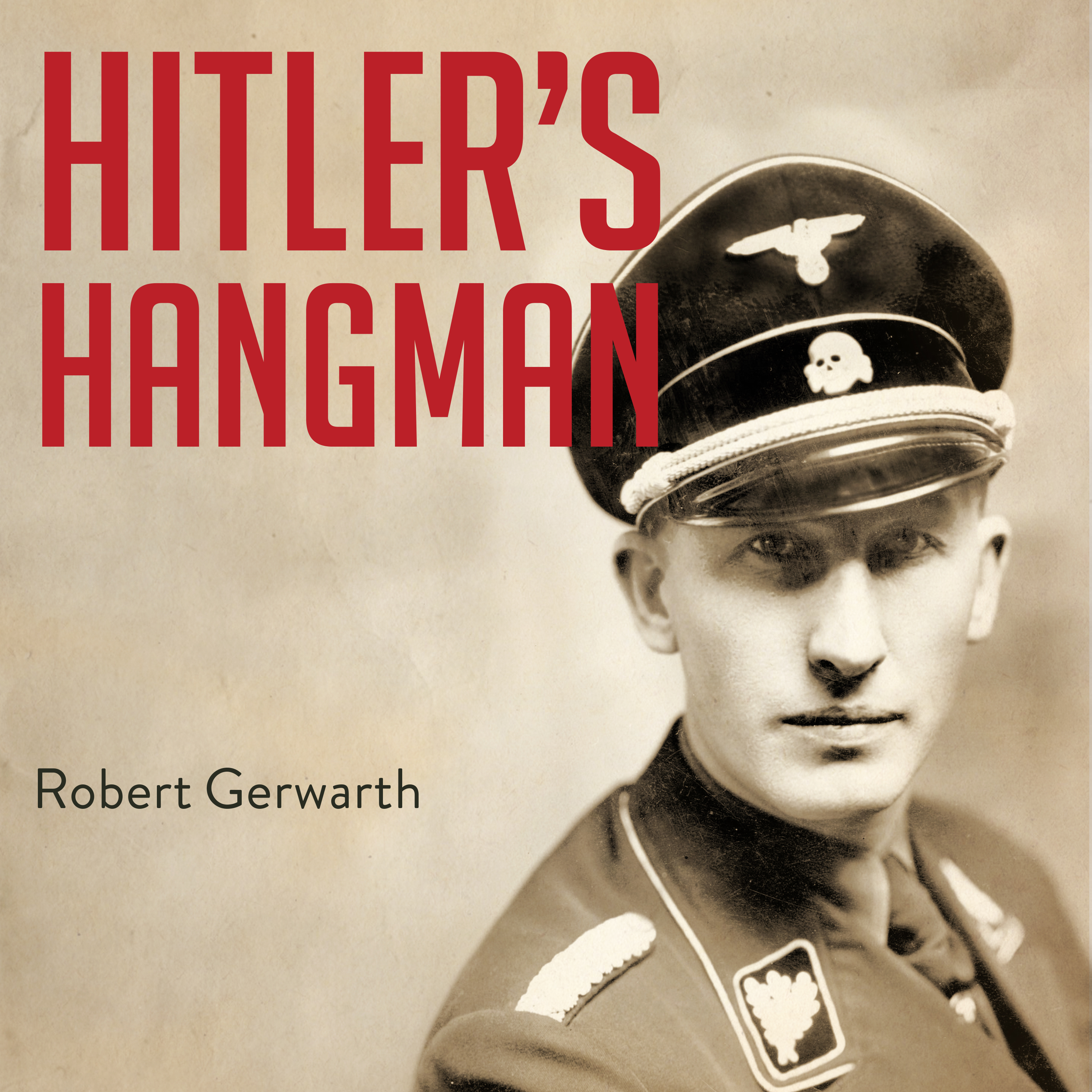 Printable Hitler's Hangman: The Life of Heydrich Audiobook Cover Art