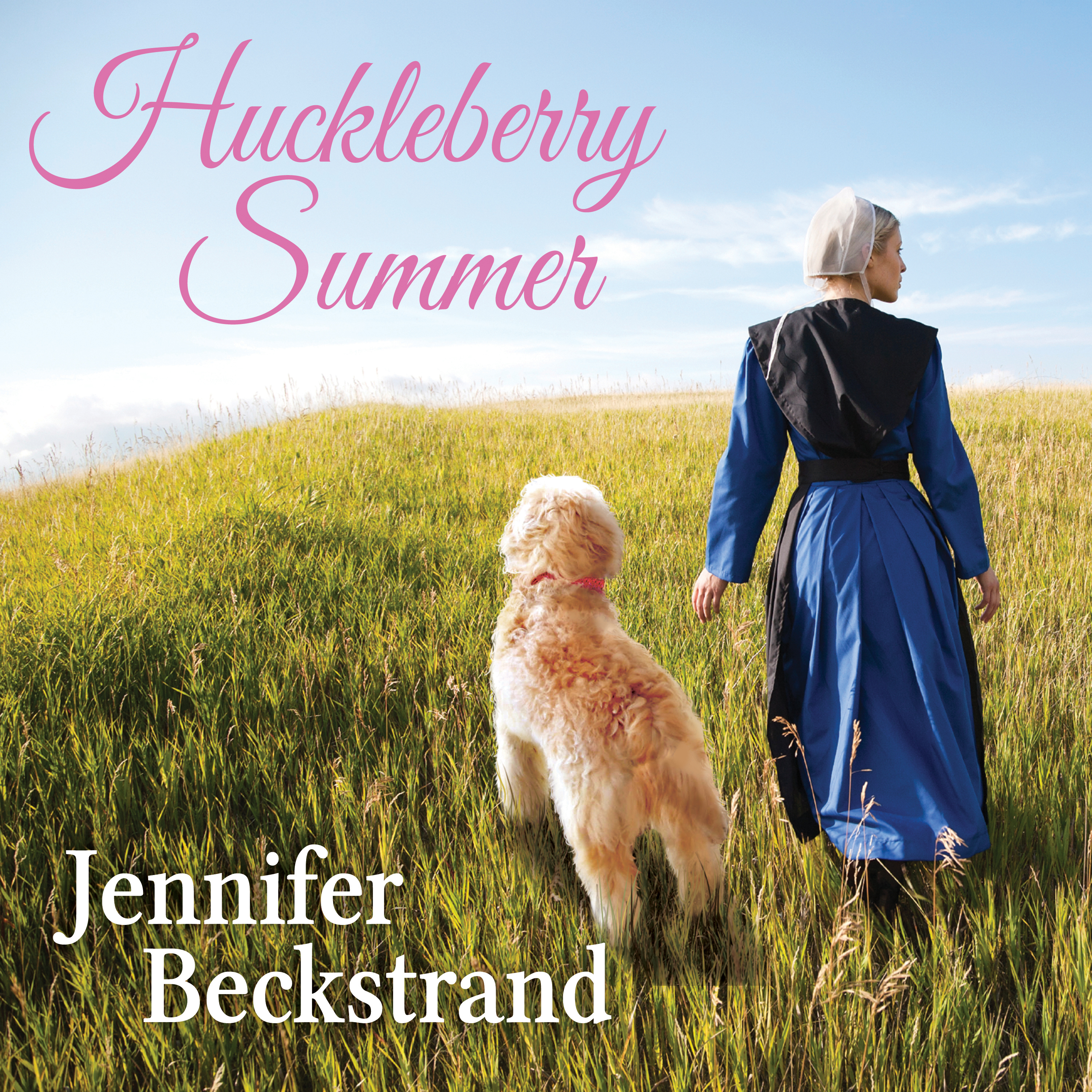 Printable Huckleberry Summer Audiobook Cover Art