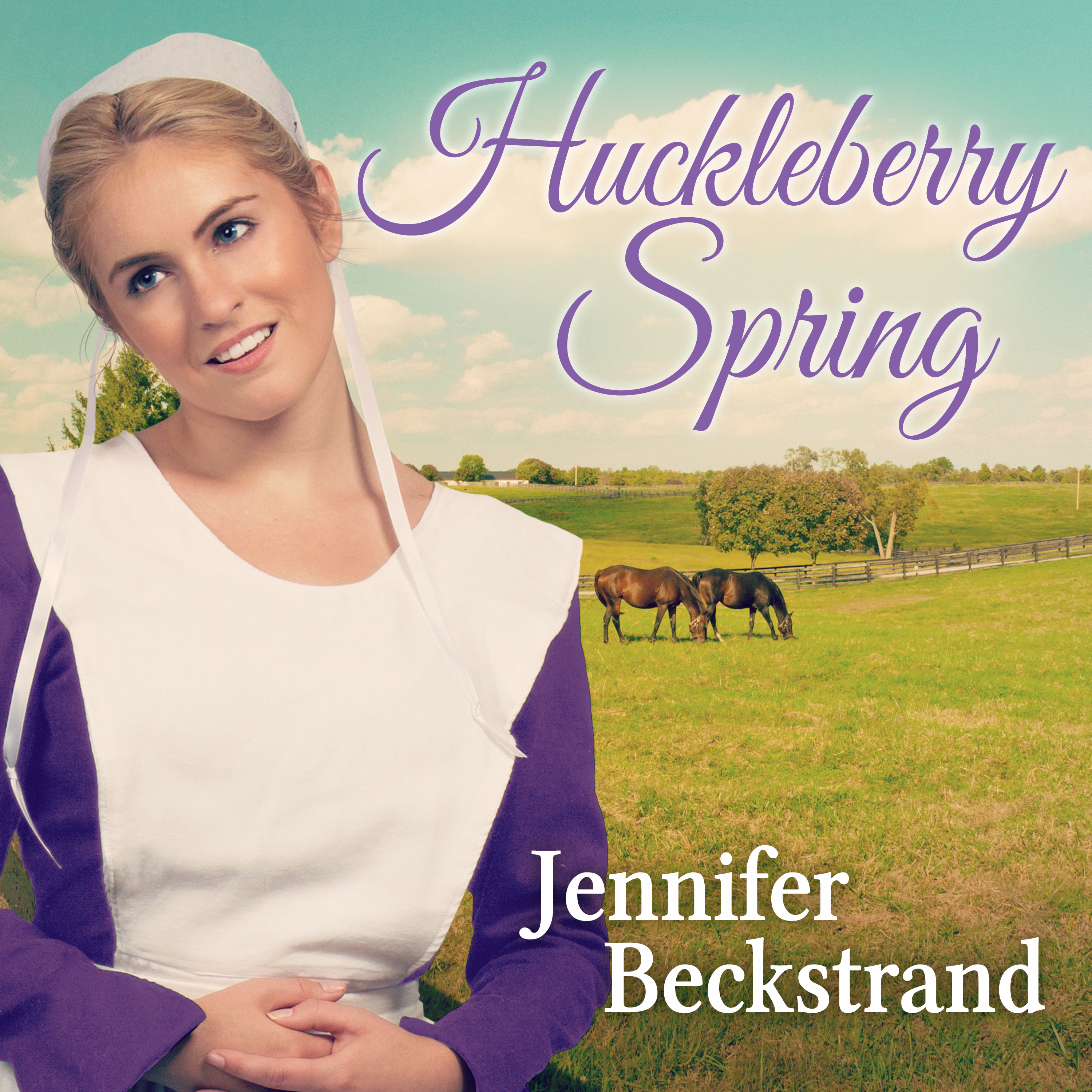 Printable Huckleberry Spring Audiobook Cover Art