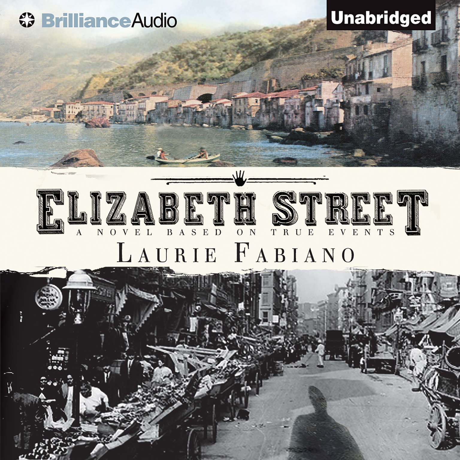 Printable Elizabeth Street Audiobook Cover Art