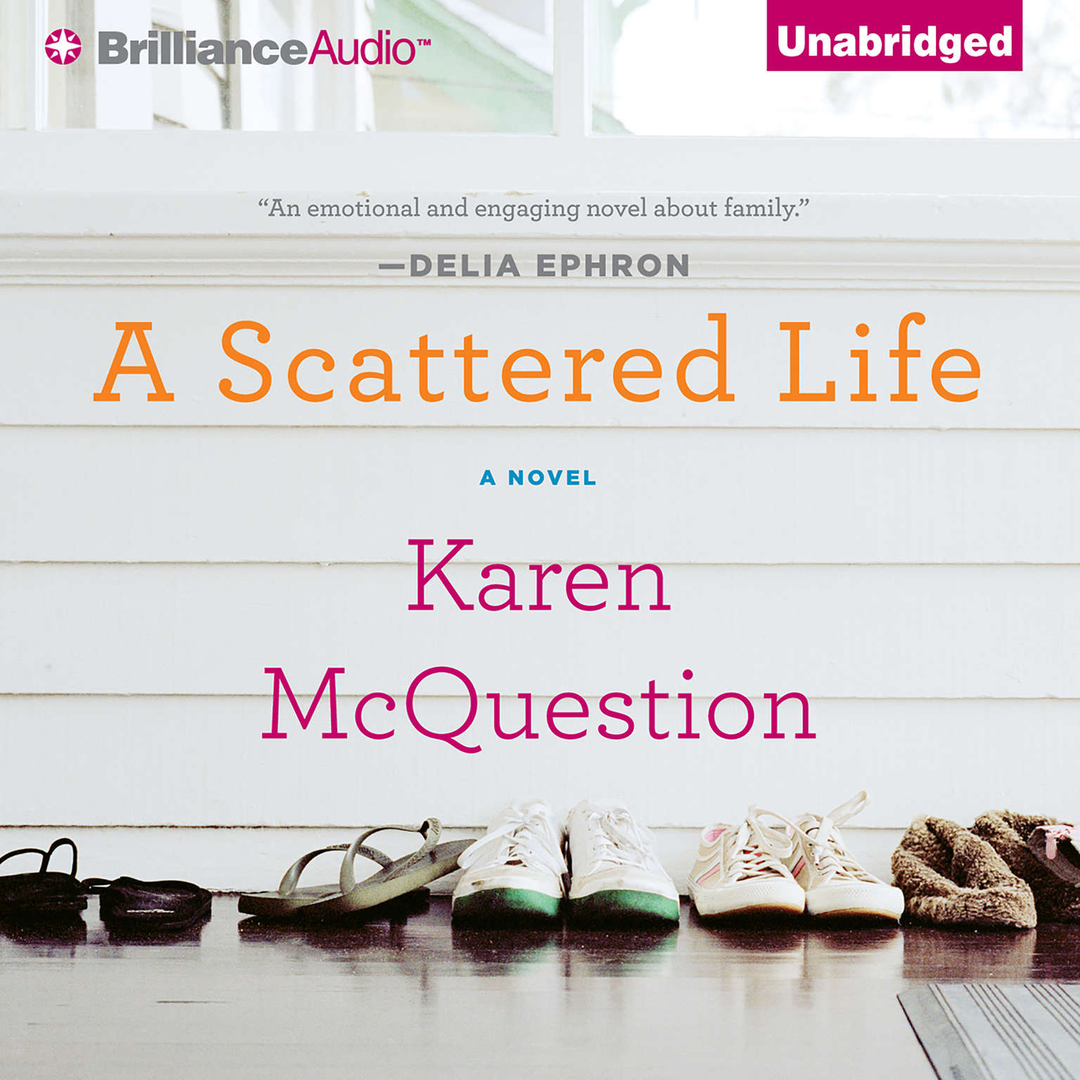 Printable A Scattered Life Audiobook Cover Art