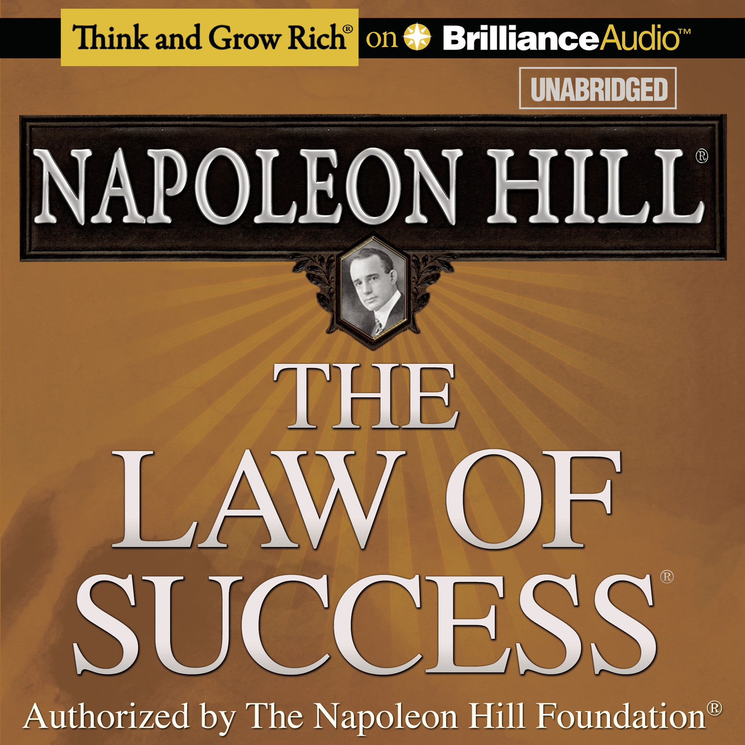 Printable The Law of Success Audiobook Cover Art