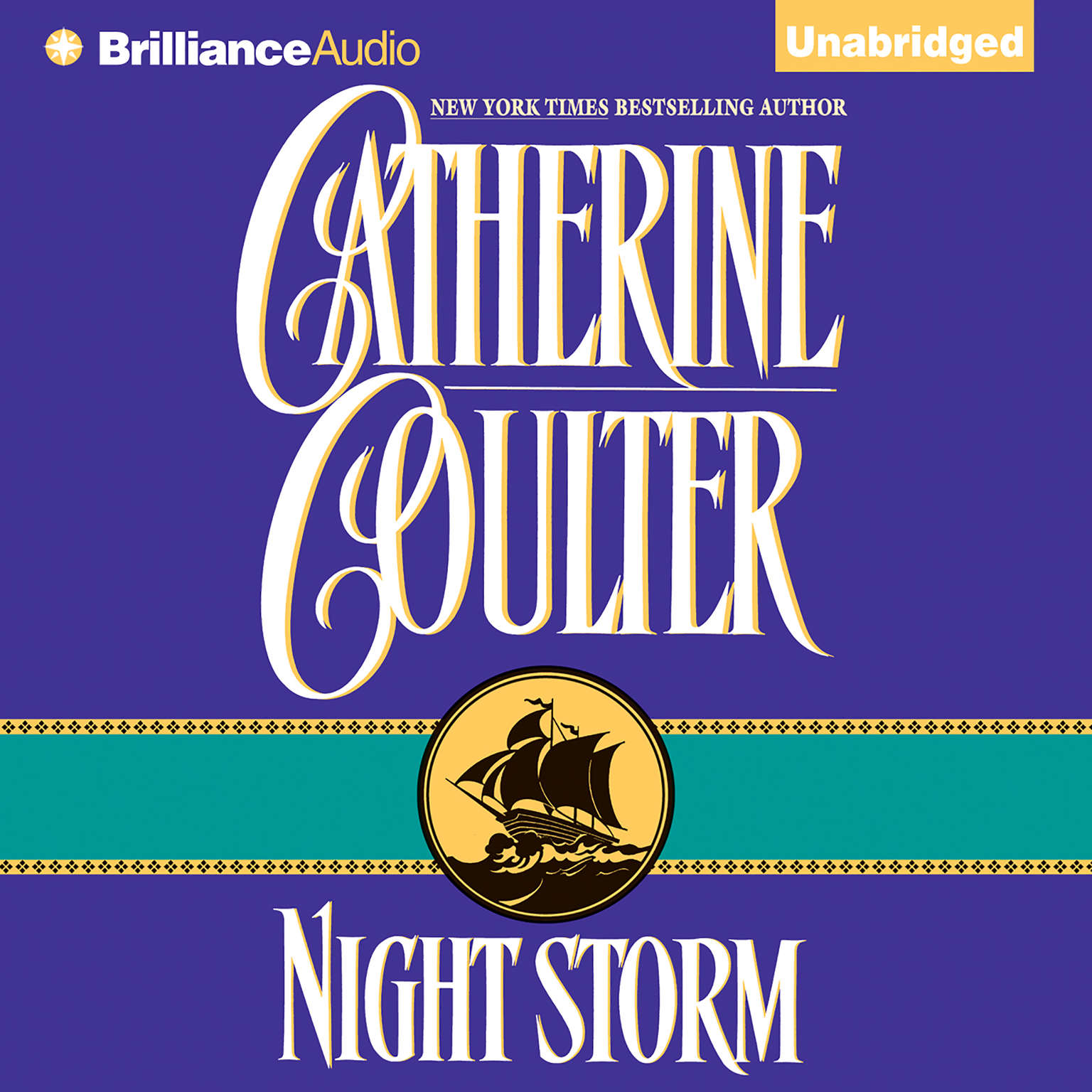 Printable Night Storm Audiobook Cover Art