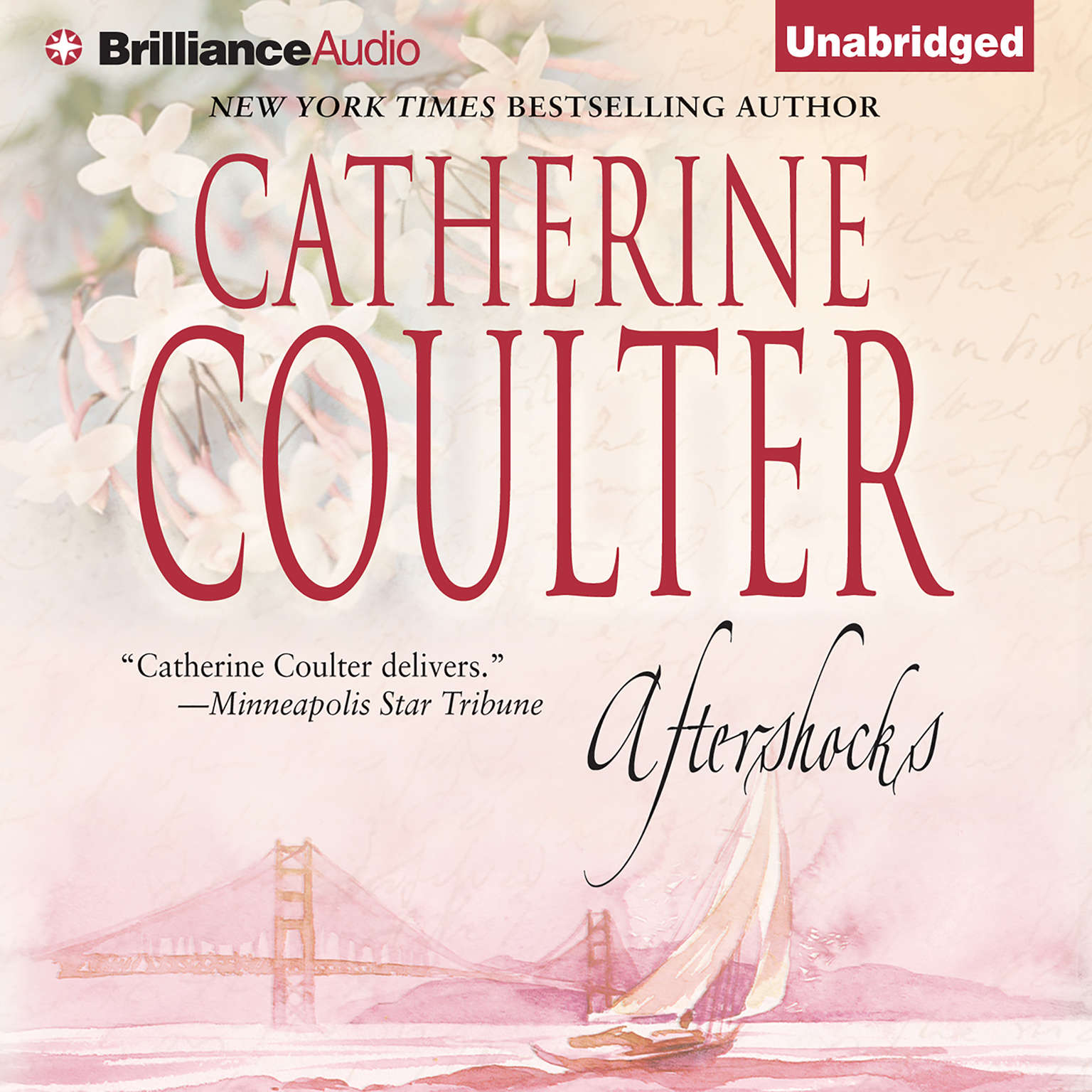 Printable Aftershocks Audiobook Cover Art