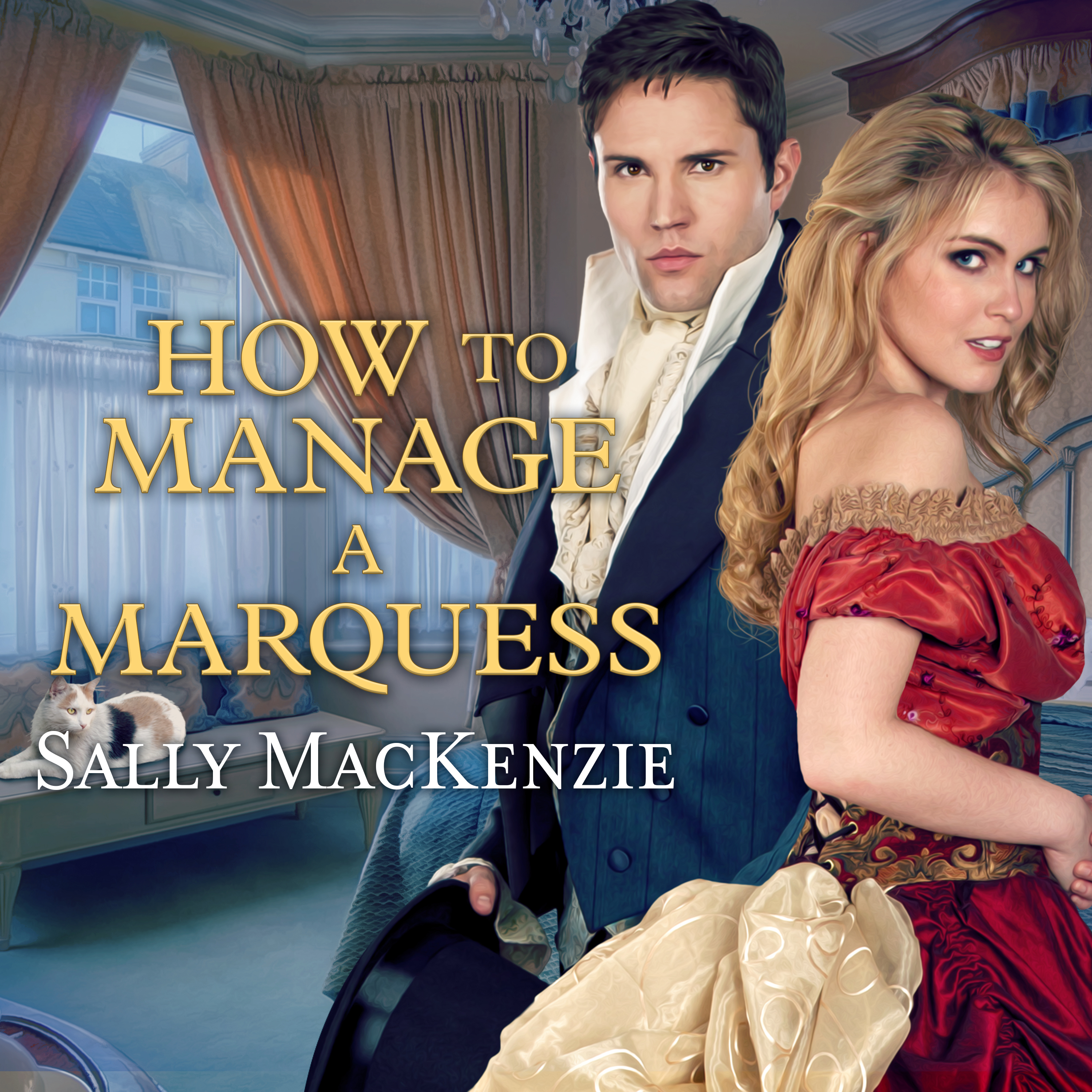 Printable How to Manage a Marquess Audiobook Cover Art