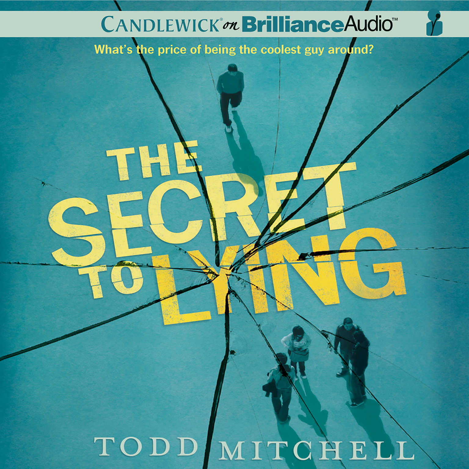 Printable The Secret to Lying Audiobook Cover Art