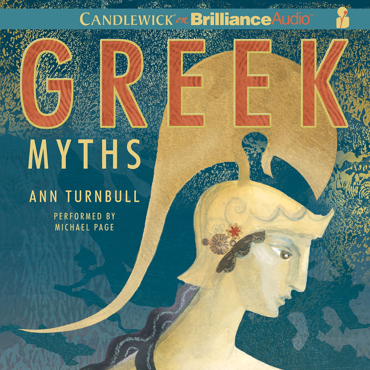 Printable Greek Myths Audiobook Cover Art