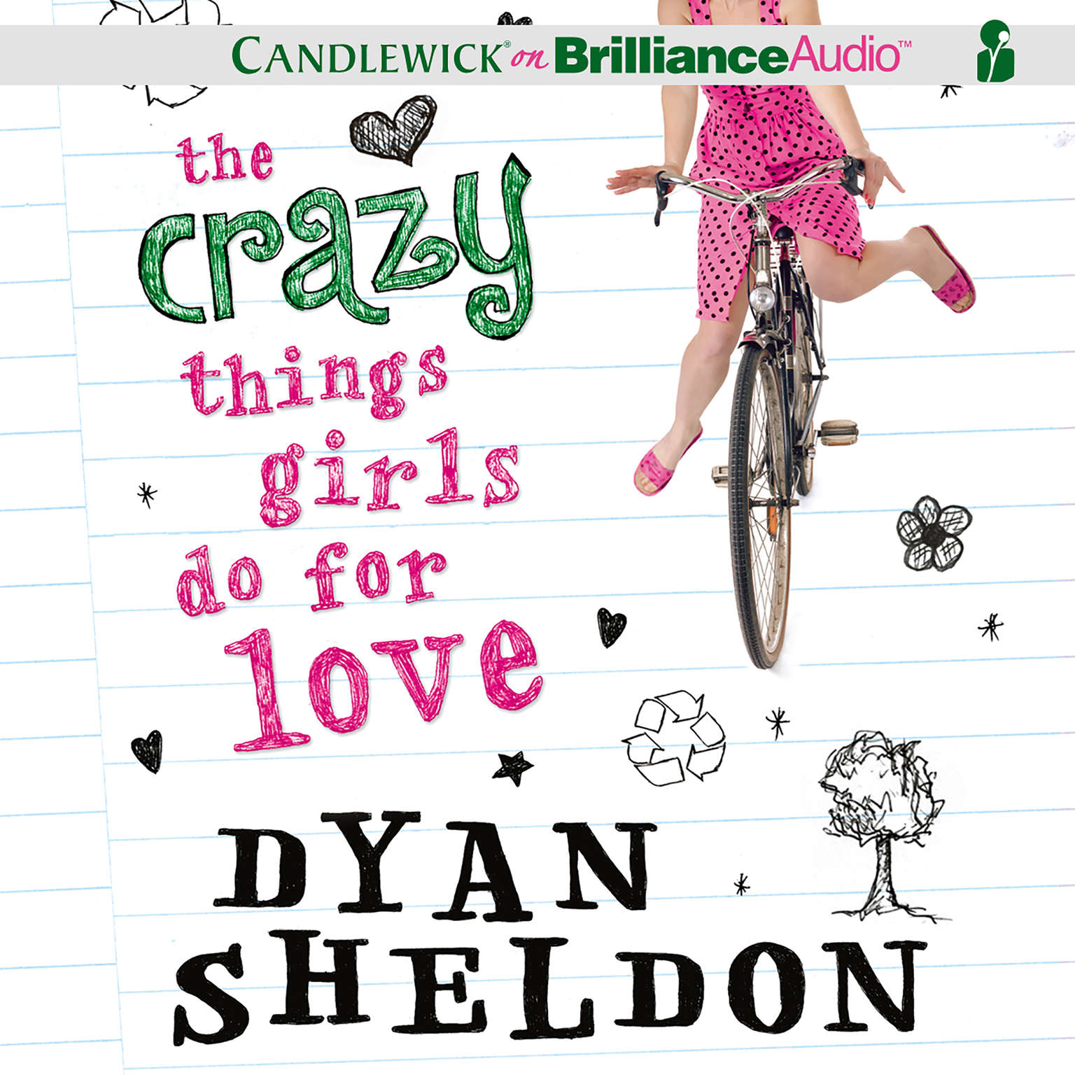 Printable The Crazy Things Girls Do for Love Audiobook Cover Art